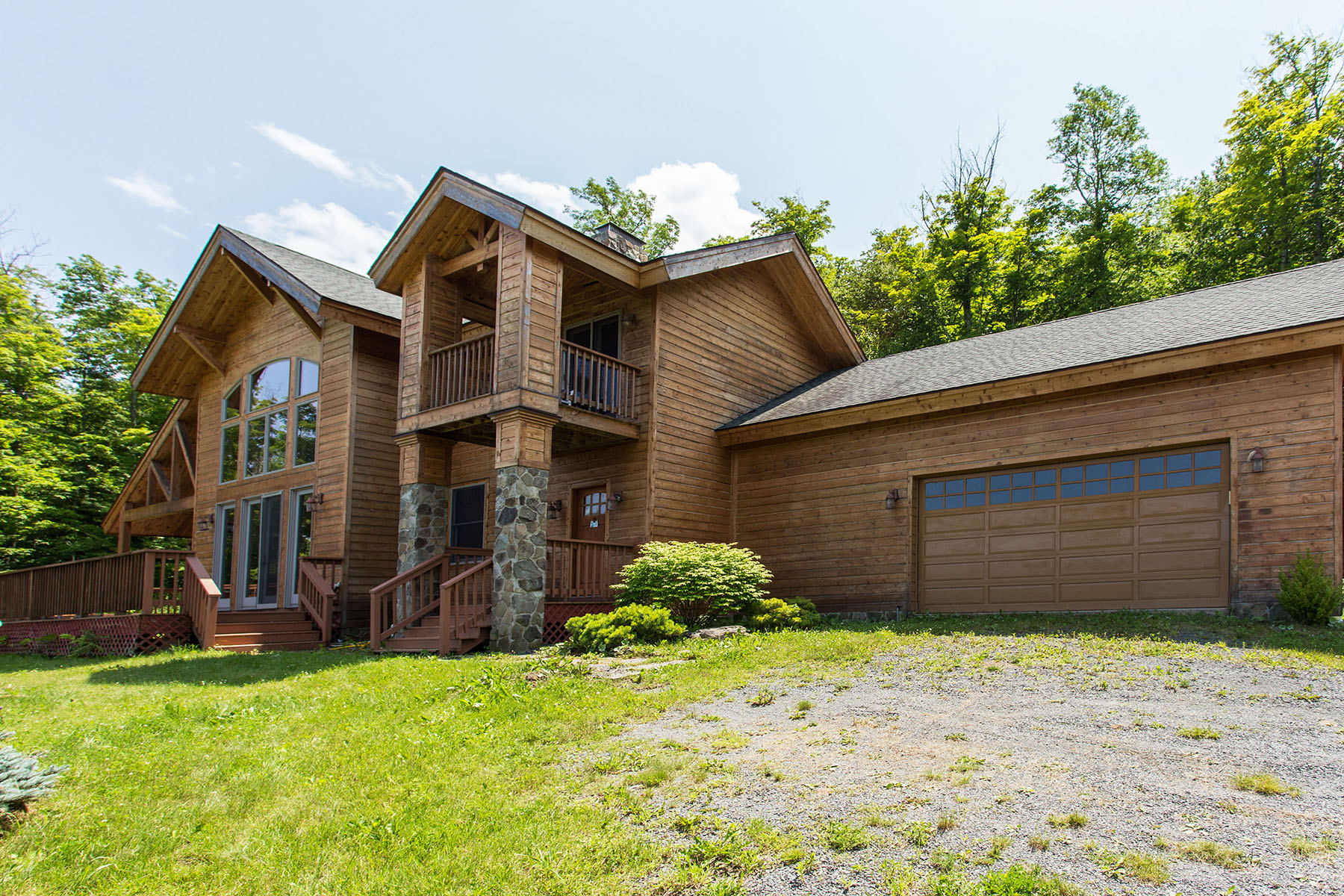 Single Family Home for Sale at Executive Chalet with View of the Catskills 53 Jacobs La Hunter, New York 12442 United States