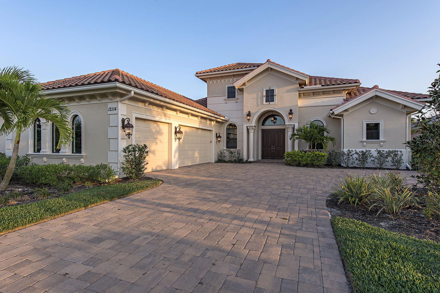 Maison unifamiliale pour l Vente à TWIN EAGLES - WICKLOW 12114 Wicklow Ln Naples, Florida, 34120 États-Unis