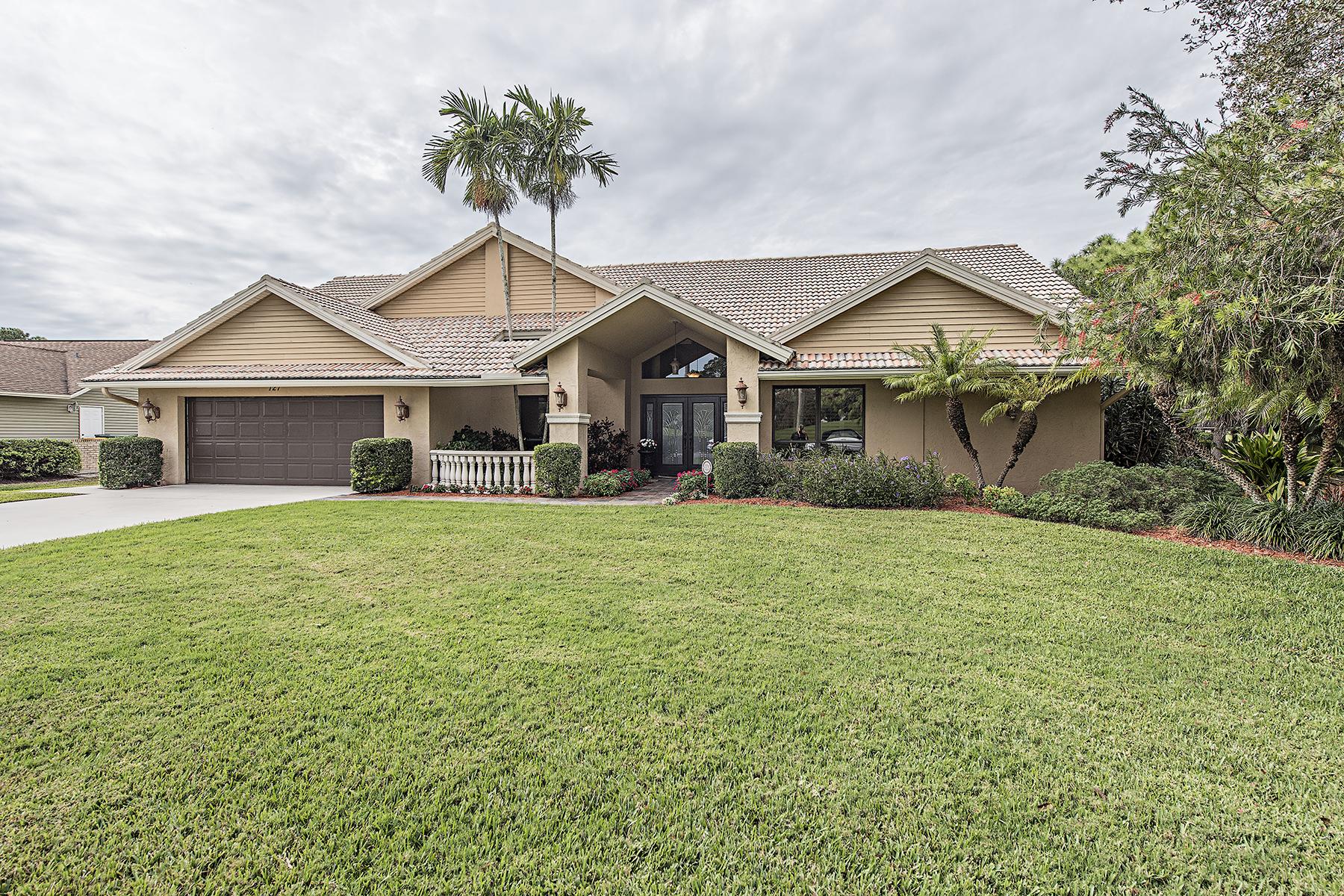 獨棟家庭住宅 為 出售 在 LELY COUNTRY CLUB - TANGLEWOOD 127 Muirfield Cir Naples, 佛羅里達州, 34113 美國