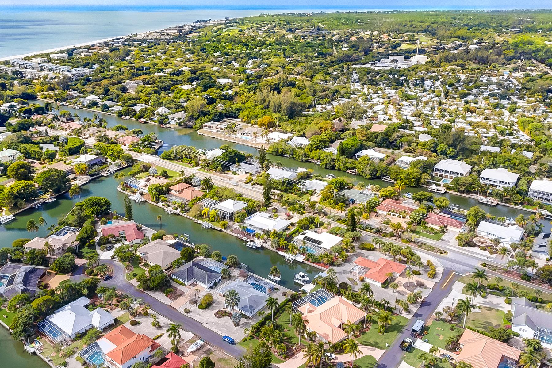 Maison unifamiliale pour l Vente à SANIBEL 935 Pecten Ct, Sanibel, Florida 33957 États-Unis