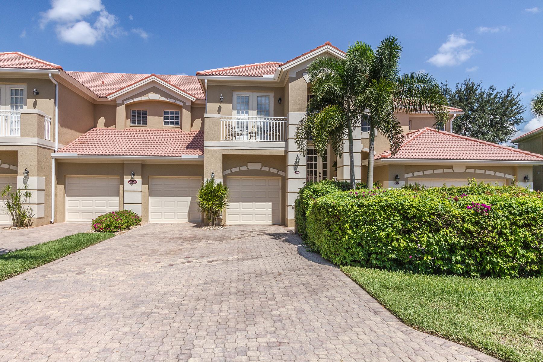 Condominium for Rent at PELICAN MARSH - MONT CLAIRE 2425 Mont Claire Ct 202, Naples, Florida 34109 United States