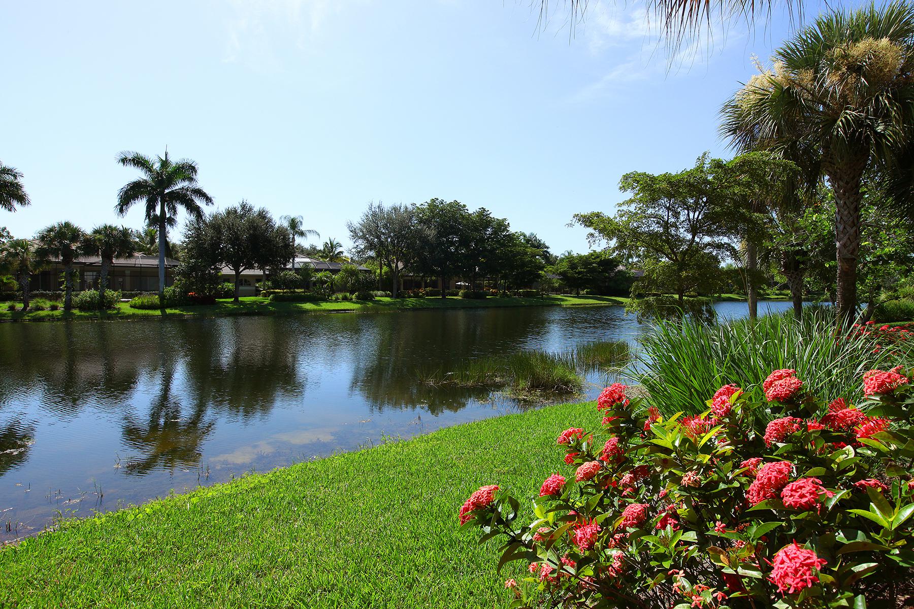 타운하우스 용 매매 에 FIDDLER'S CREEK - CARDINAL COVE 4510 Cardinal Cove Ln Naples, 플로리다, 34114 미국