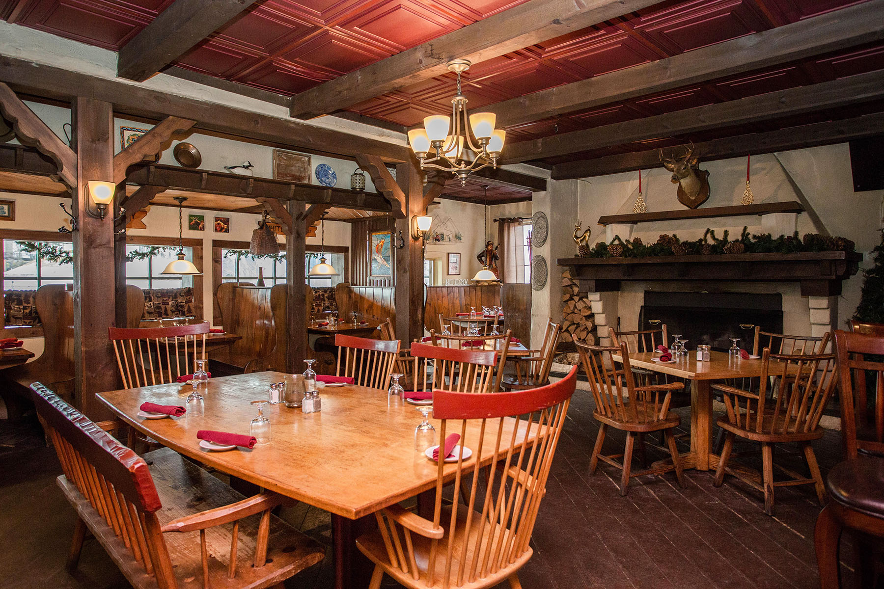 Additional photo for property listing at Fireside Steak House 2653  Main St Lake Placid, New York 12946 United States