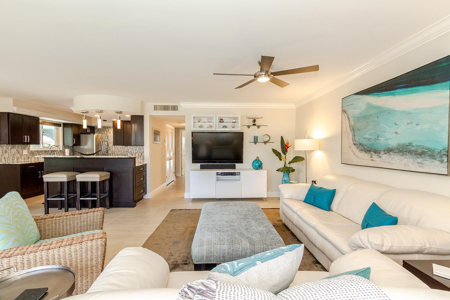 Condominium for Rent at YACHT HARBOR MANOR - YACHT HARBOR MANOR 2500 Gulf Shore Blvd N N1, Naples, Florida 34103 United States