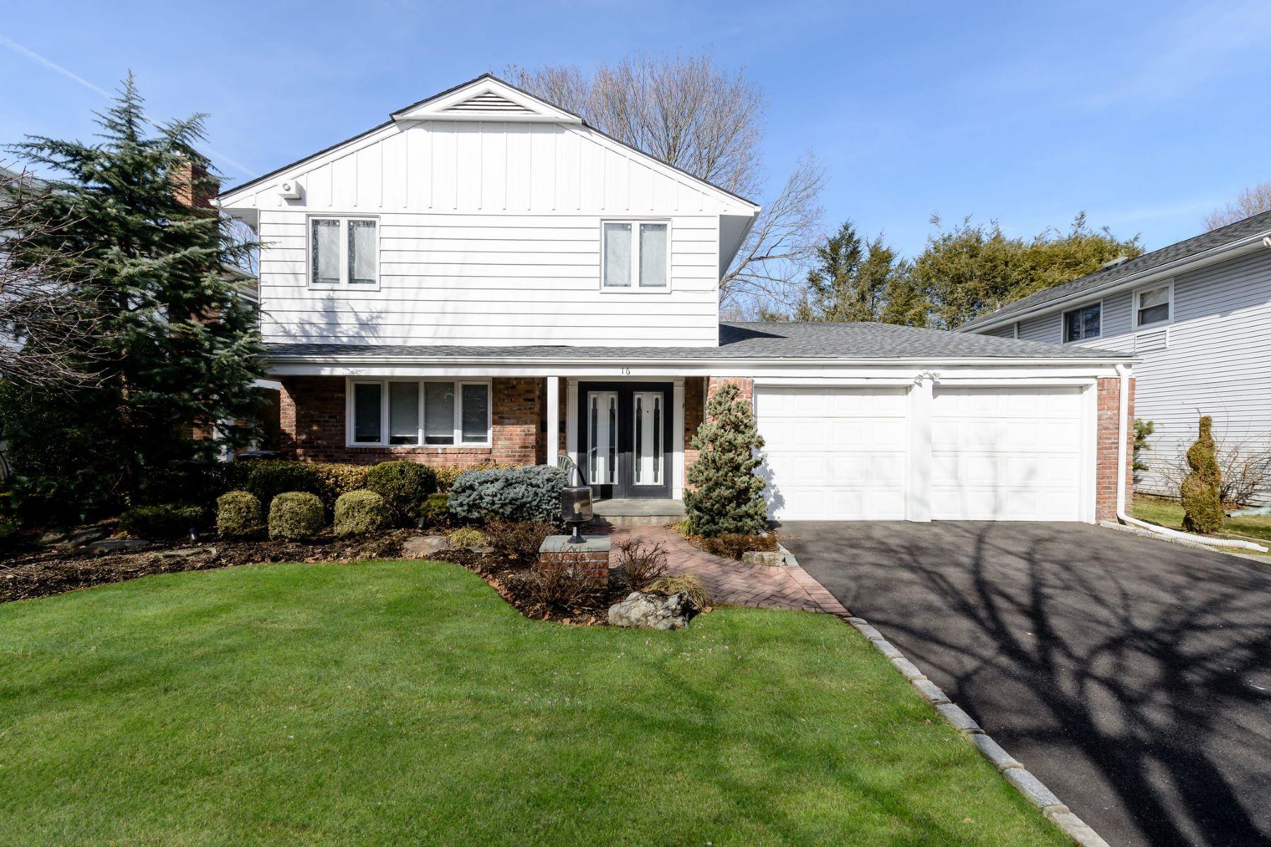 واحد منزل الأسرة للـ Sale في 16 Heathcote Dr , Albertson, NY 11507 16 Heathcote Dr, Albertson, New York, 11507 United States