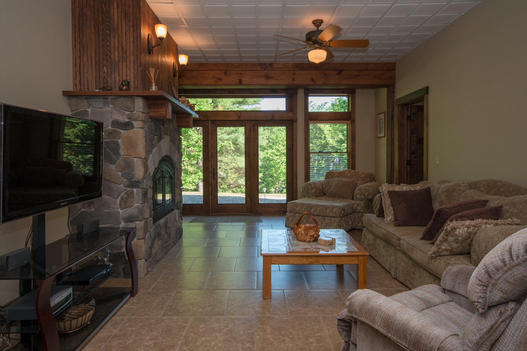 Additional photo for property listing at Custom Adirondack Country Retreat 498  Stickney Bridge Rd Jay, New York 12941 Stati Uniti