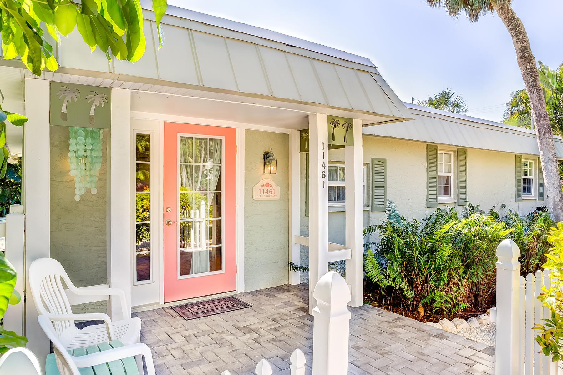 Maison unifamiliale pour l Vente à CAPTIVA 11461 Old Lodge Ln Captiva, Florida, 33924 États-Unis