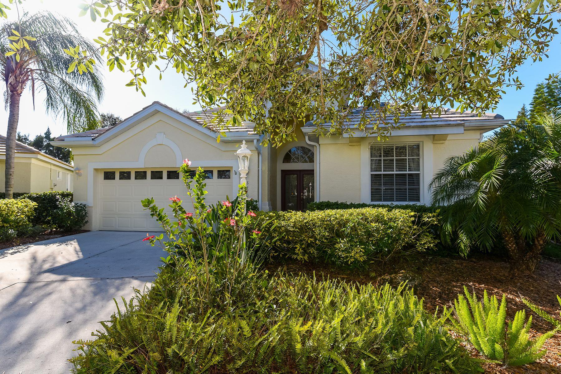 独户住宅 为 销售 在 EDGEWATER VILLAGE 8470 Idlewood Ct 莱克伍德牧场, 佛罗里达州, 34202 美国