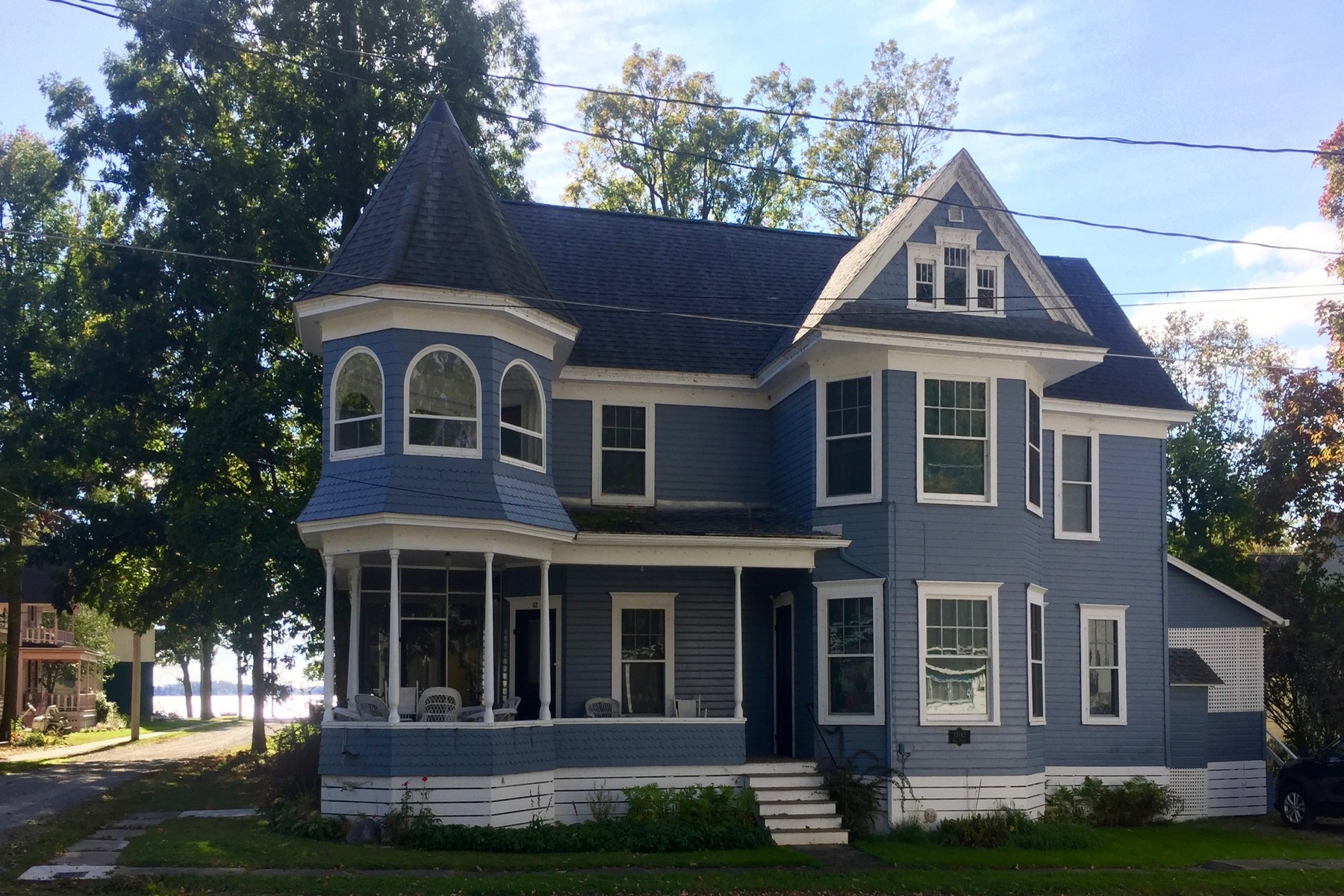 のために 売買 アット Queene Anne Victorian in Thousand Island Park 62 Outlook Ave. Ave Thousand Island Park, ニューヨーク 13692 アメリカ合衆国