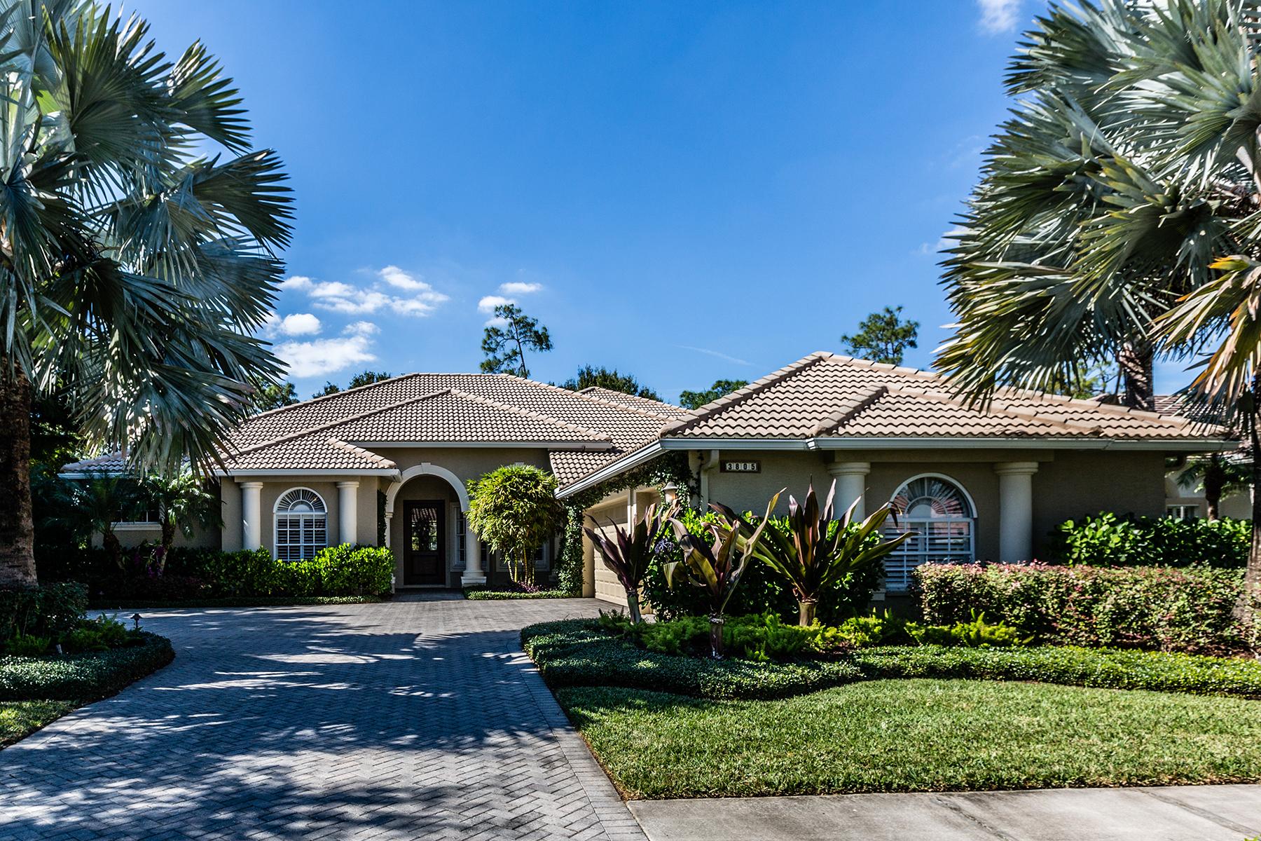 獨棟家庭住宅 為 出售 在 NAPLES - CEDAR HAMMOCK 3805 Wax Myrtle Naples, 佛羅里達州, 34112 美國