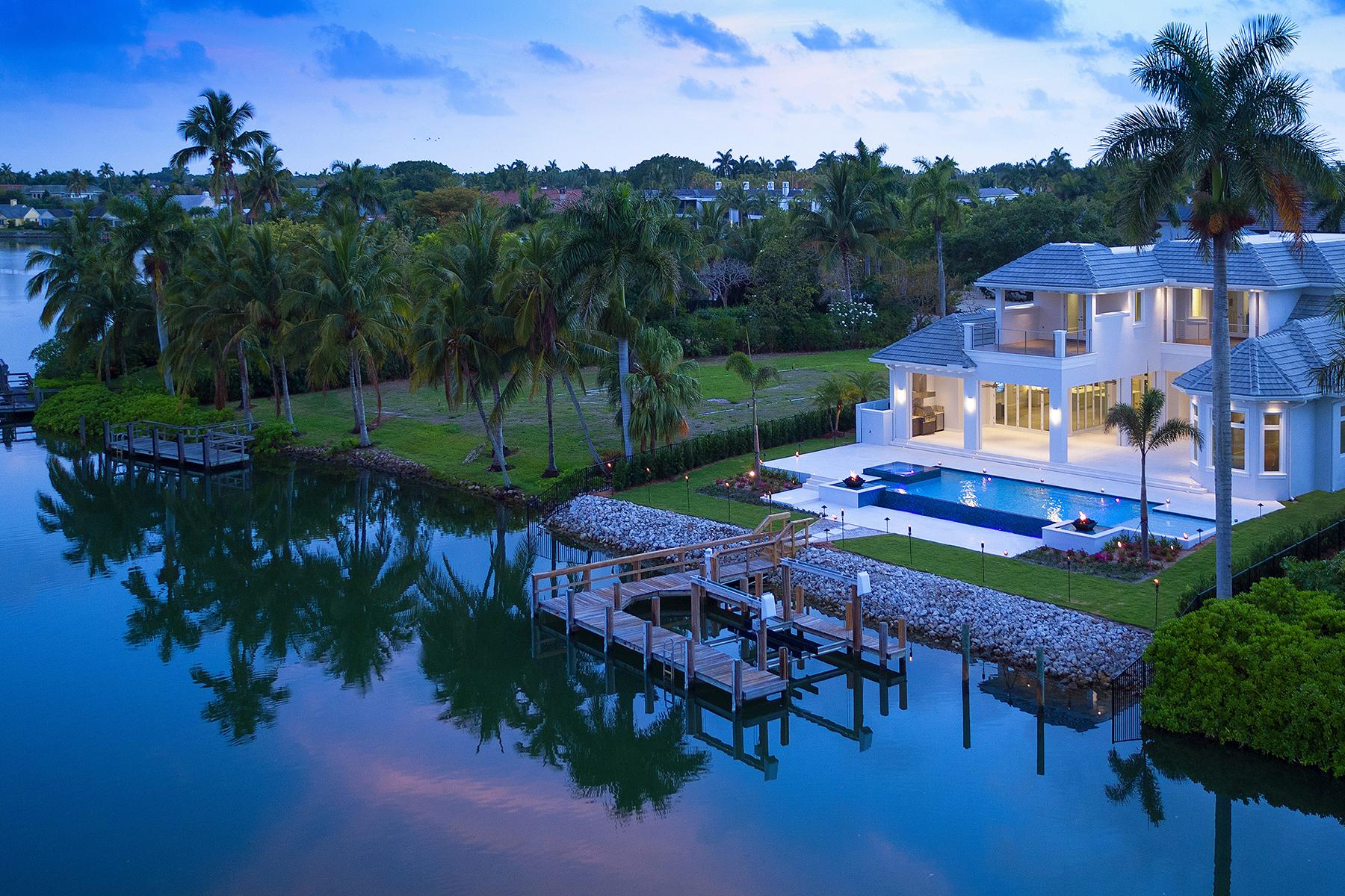Einfamilienhaus für Verkauf beim PORT ROYAL 1351 Spyglass Ln Naples, Florida 34102 Vereinigte Staaten