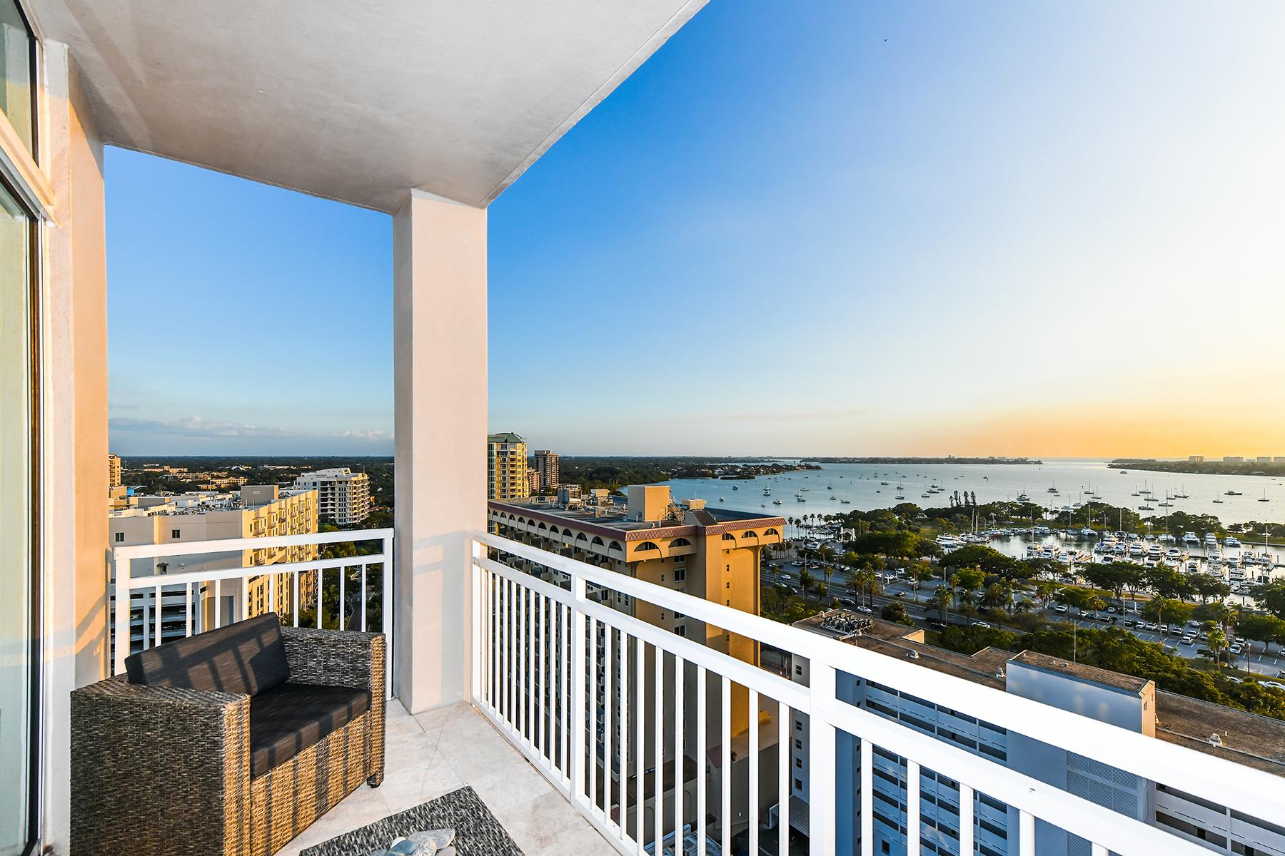 コンドミニアム のために 売買 アット 1350 MAIN RESIDENTIAL 1350 Main St 1606, Sarasota, フロリダ, 34236 アメリカ合衆国