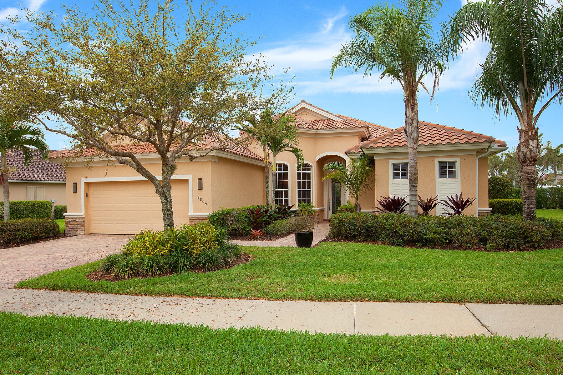 独户住宅 为 销售 在 QUARRY - SPINNER COVE LANE 8805 Spinner Cove Ln 那不勒斯, 佛罗里达州, 34120 美国