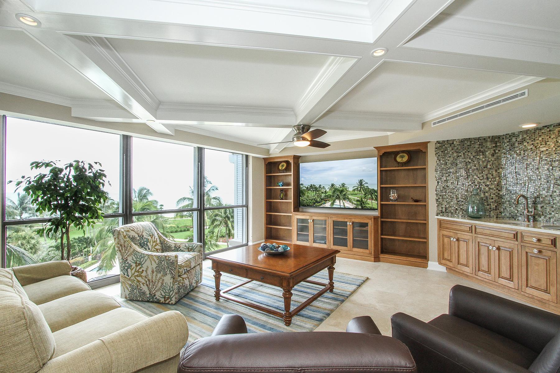 共管式独立产权公寓 为 出租 在 PARK SHORE - MONACO BEACH CLUB 4401 Gulf Shore Blvd N B-503 那不勒斯, 佛罗里达州 34103 美国