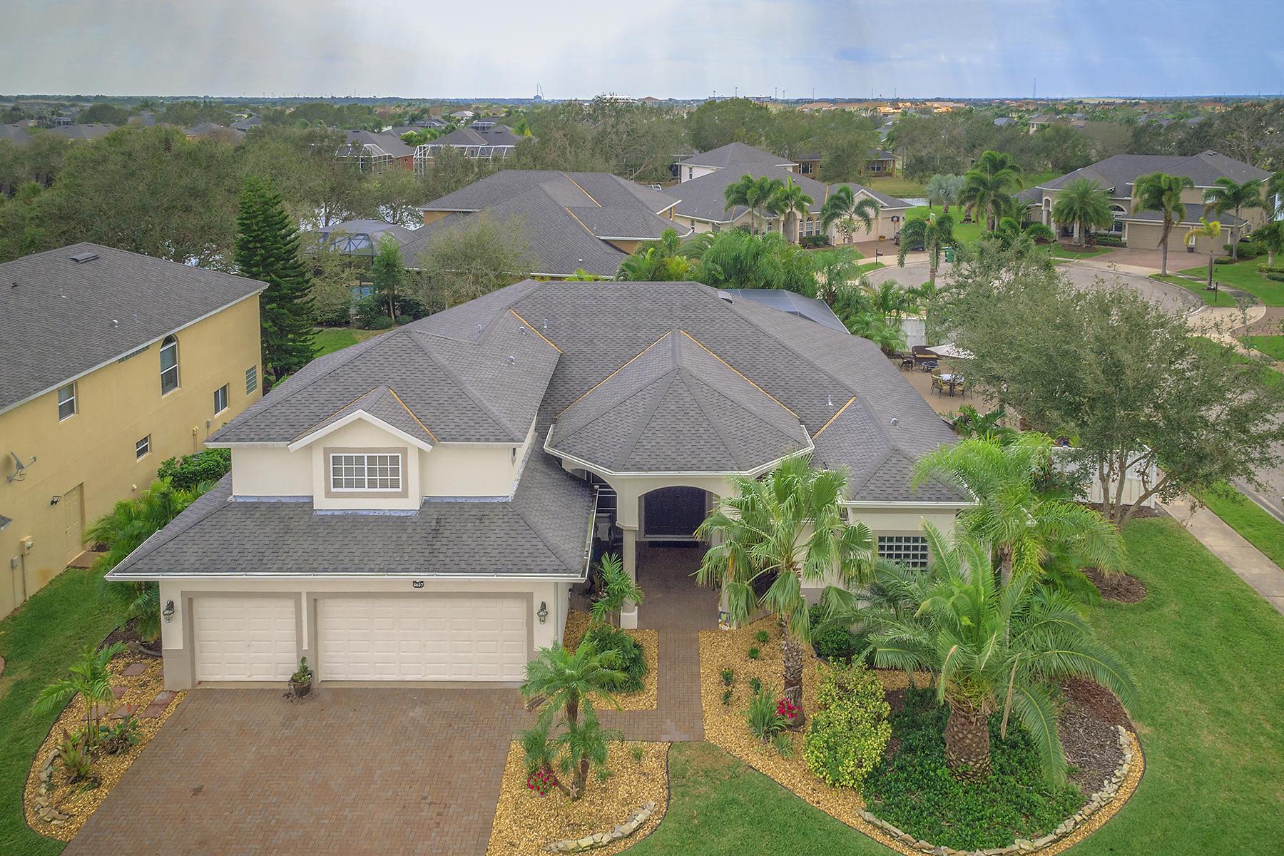 Einfamilienhaus für Verkauf beim ROCKLEDGE 4637 Merlot Dr Rockledge, Florida, 32955 Vereinigte Staaten