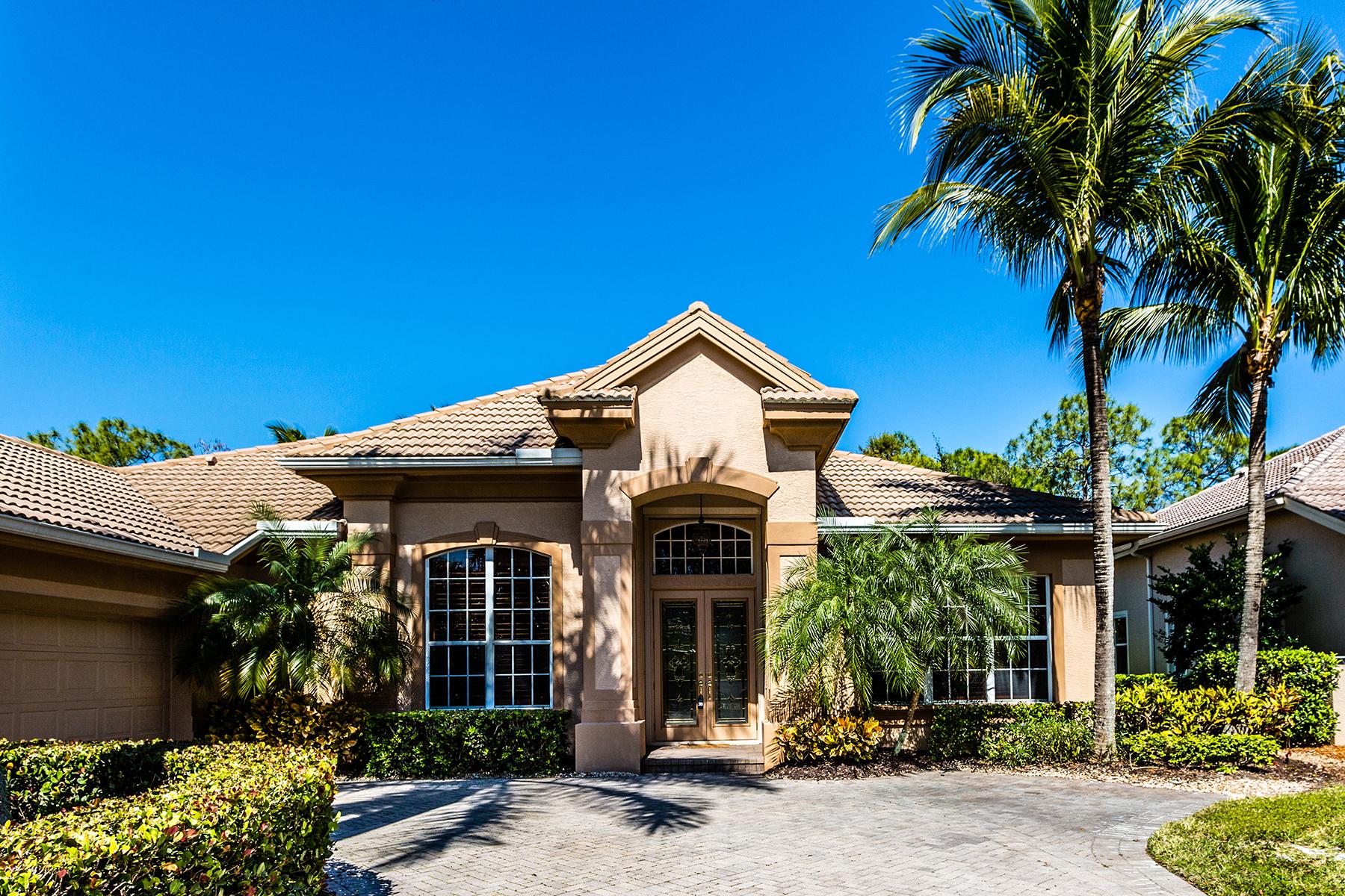 Maison unifamiliale pour l Vente à FIDDLER'S CREEK - MULBERRY ROW 7690 Mulberry Ln Naples, Florida, 34114 États-Unis