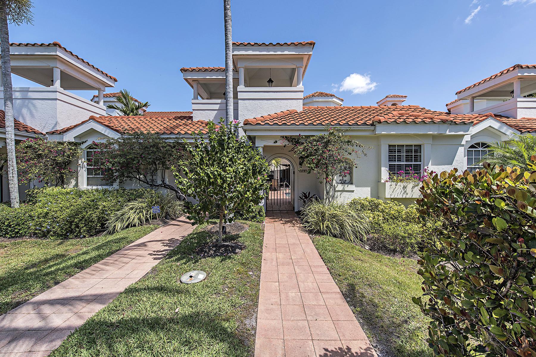联栋屋 为 销售 在 VILLAS DEL MAR 447 2nd Ave S E-1 Old Naples, 那不勒斯, 佛罗里达州, 34102 美国