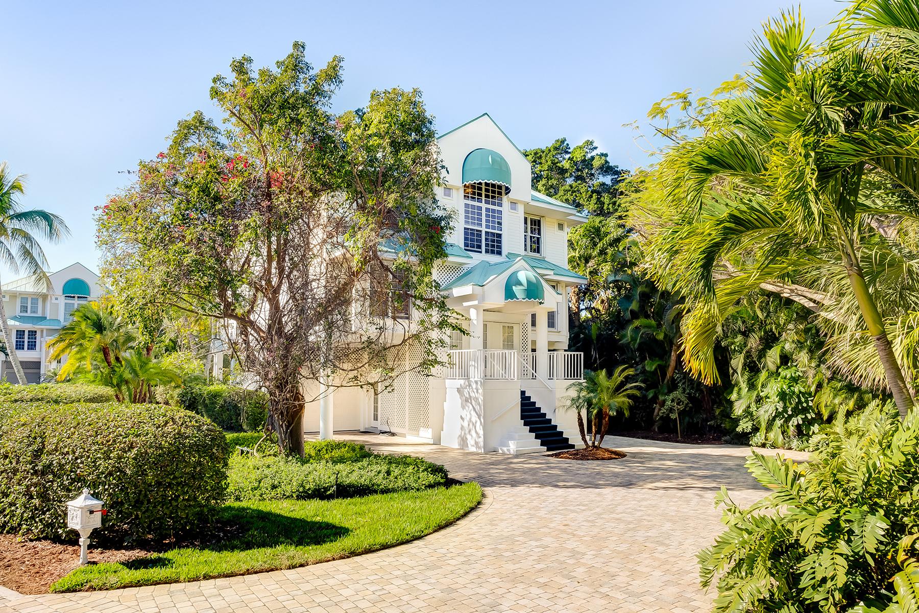 Casa Unifamiliar por un Venta en SANIBEL 408 Bella Vista Way E Sanibel, Florida, 33957 Estados Unidos