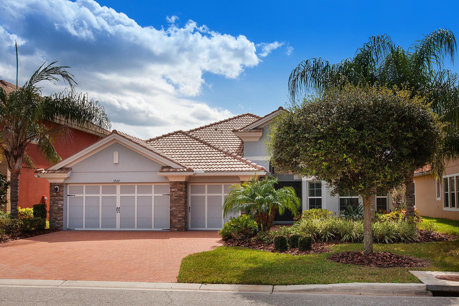 獨棟家庭住宅 為 出售 在 SARASOTA 5322 Napa Dr Sarasota, 佛羅里達州, 34243 美國