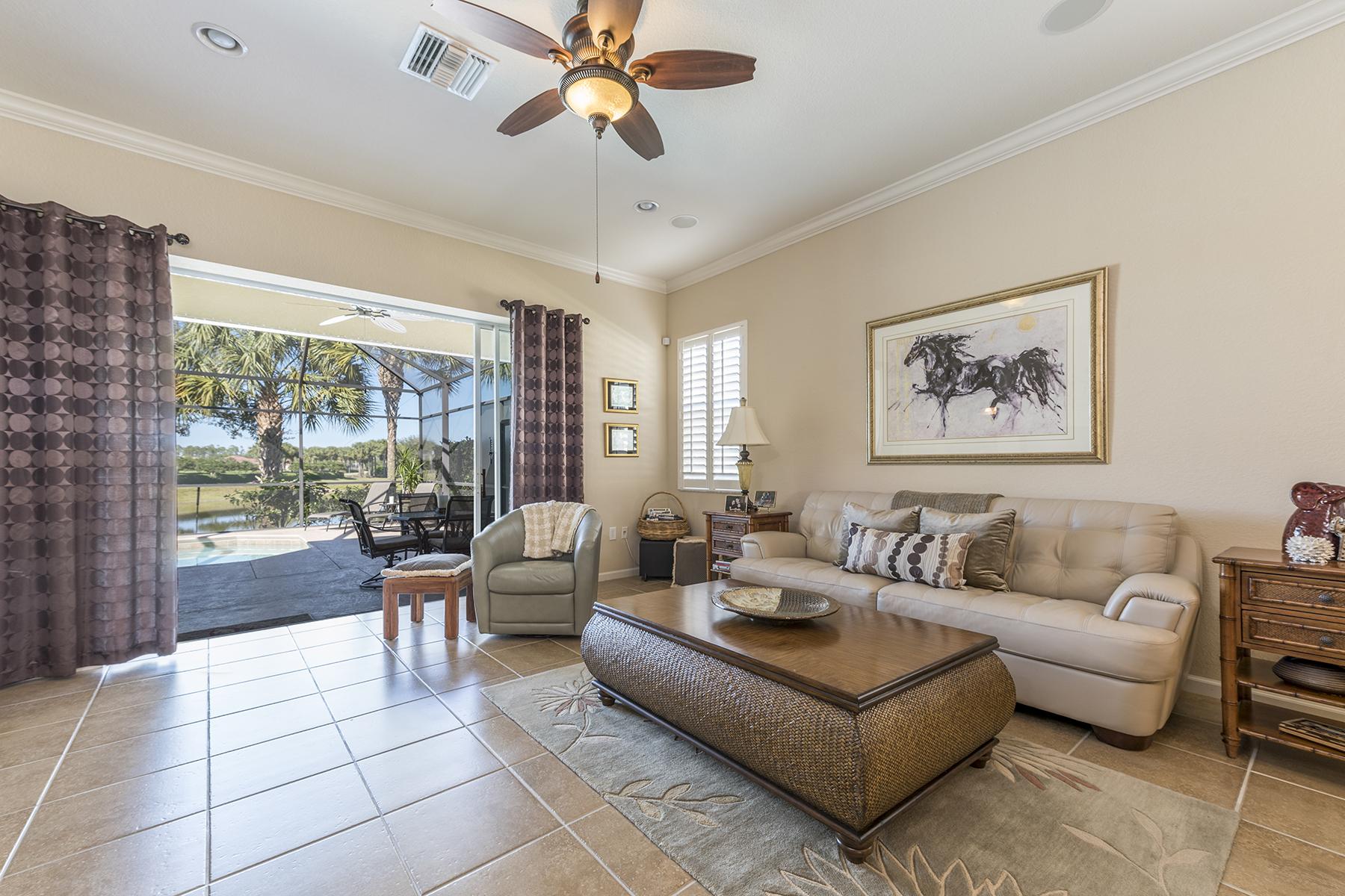 Single Family Home for Sale at HAWTHORNE - COBBLESTONE 10373 Flat Stone Loop, Bonita Springs, Florida 34135 United States
