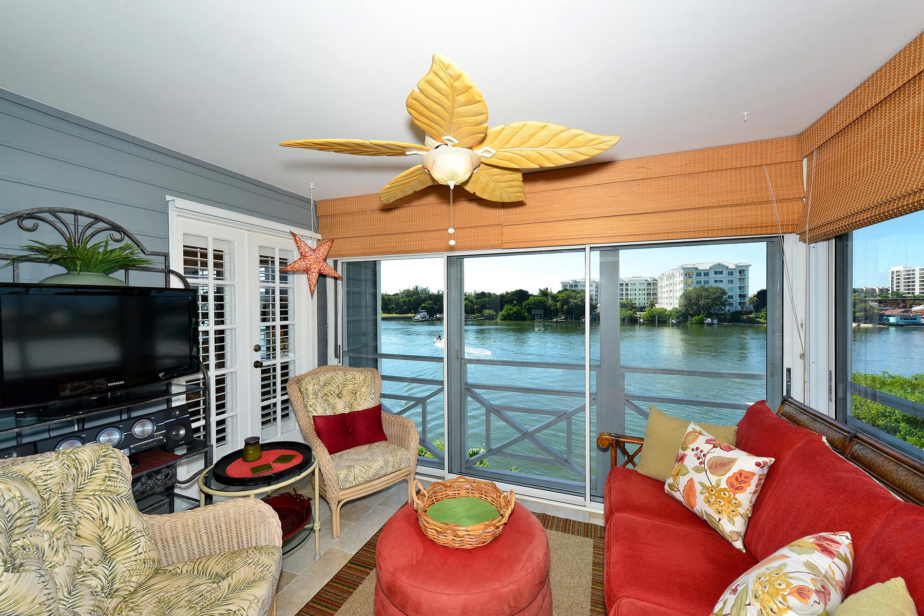콘도미니엄 용 매매 에 THE BOATYARD 1548 Stickney Point Rd 503, Sarasota, 플로리다, 34231 미국