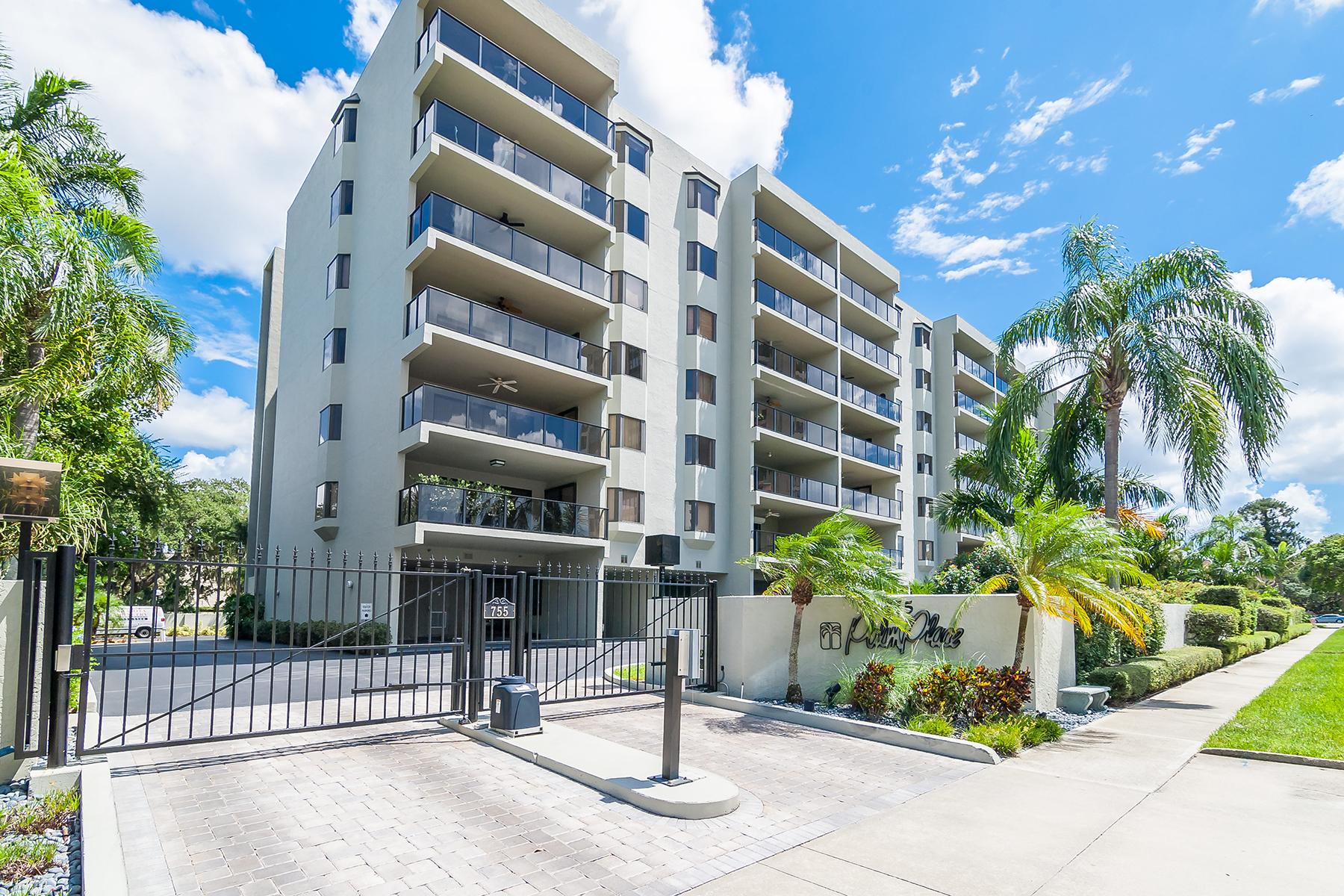 Кондоминиум для того Продажа на PALM PLAZA 755 S Palm Ave 104 Sarasota, Флорида, 34236 Соединенные Штаты