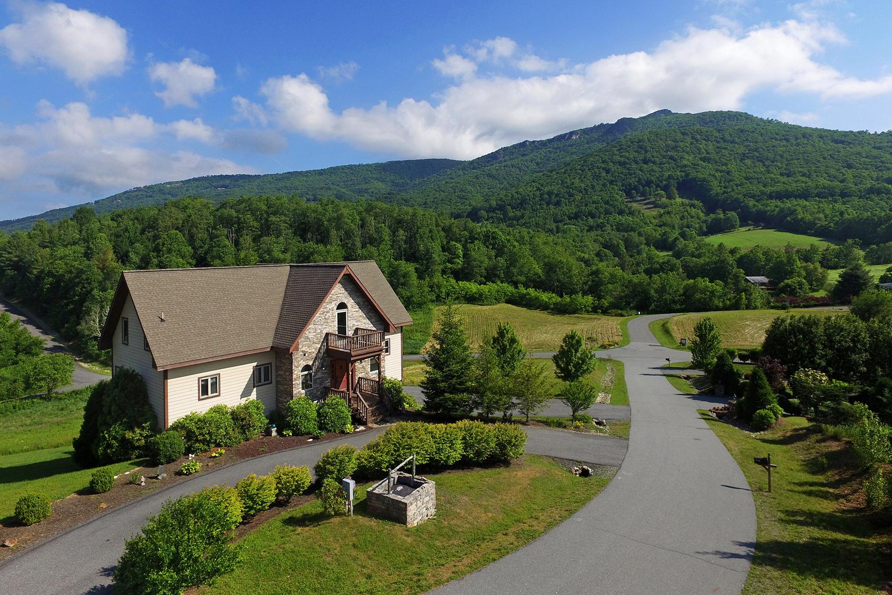 واحد منزل الأسرة للـ Sale في BANNER ELK - SILVER SPRINGS FARM 146 Snow Fox Ln, Banner Elk, North Carolina, 28604 United States