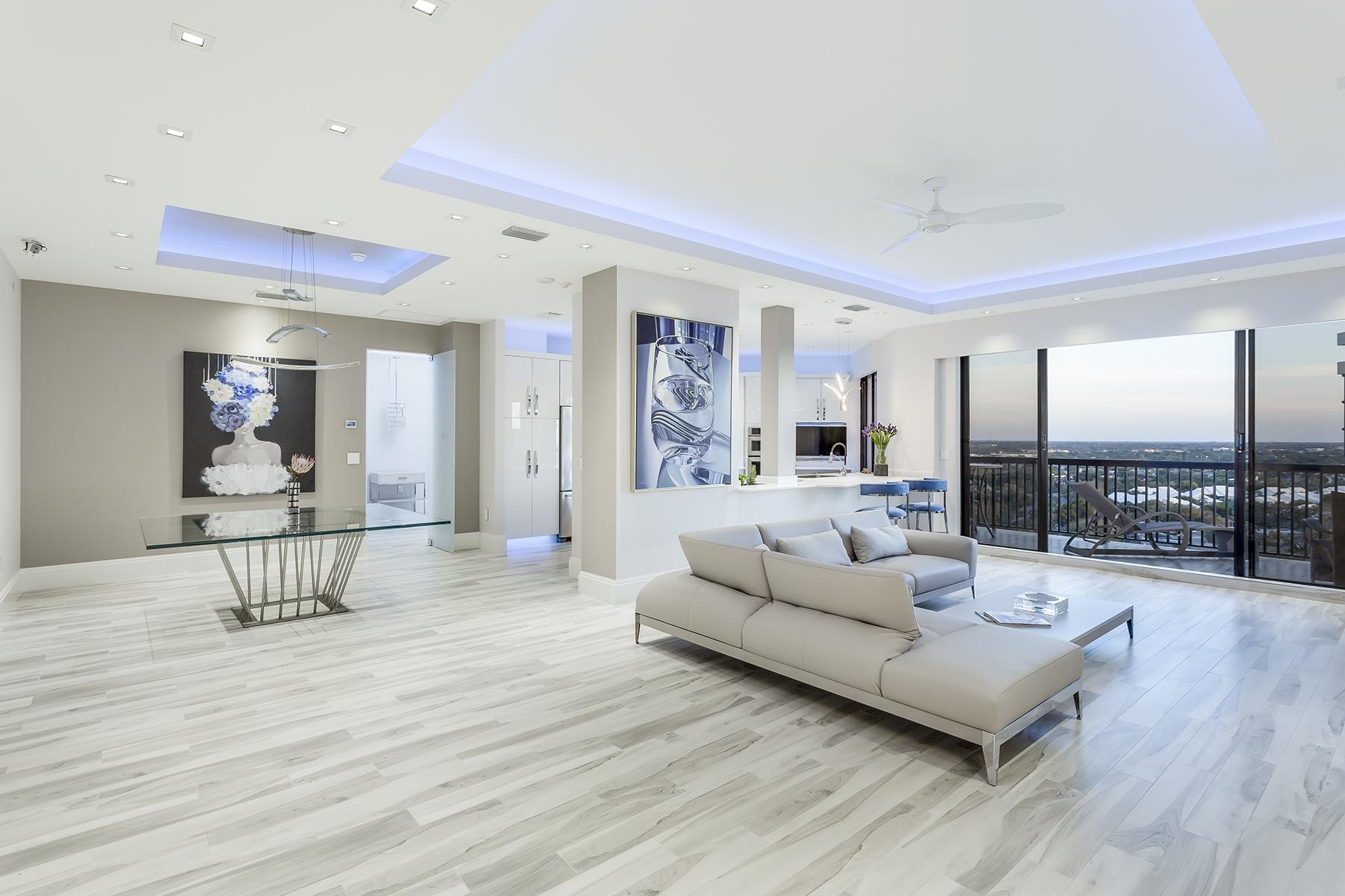 共管式独立产权公寓 为 销售 在 Naples 6075 Pelican Bay Blvd PH-B 那不勒斯, 佛罗里达州, 34108 美国