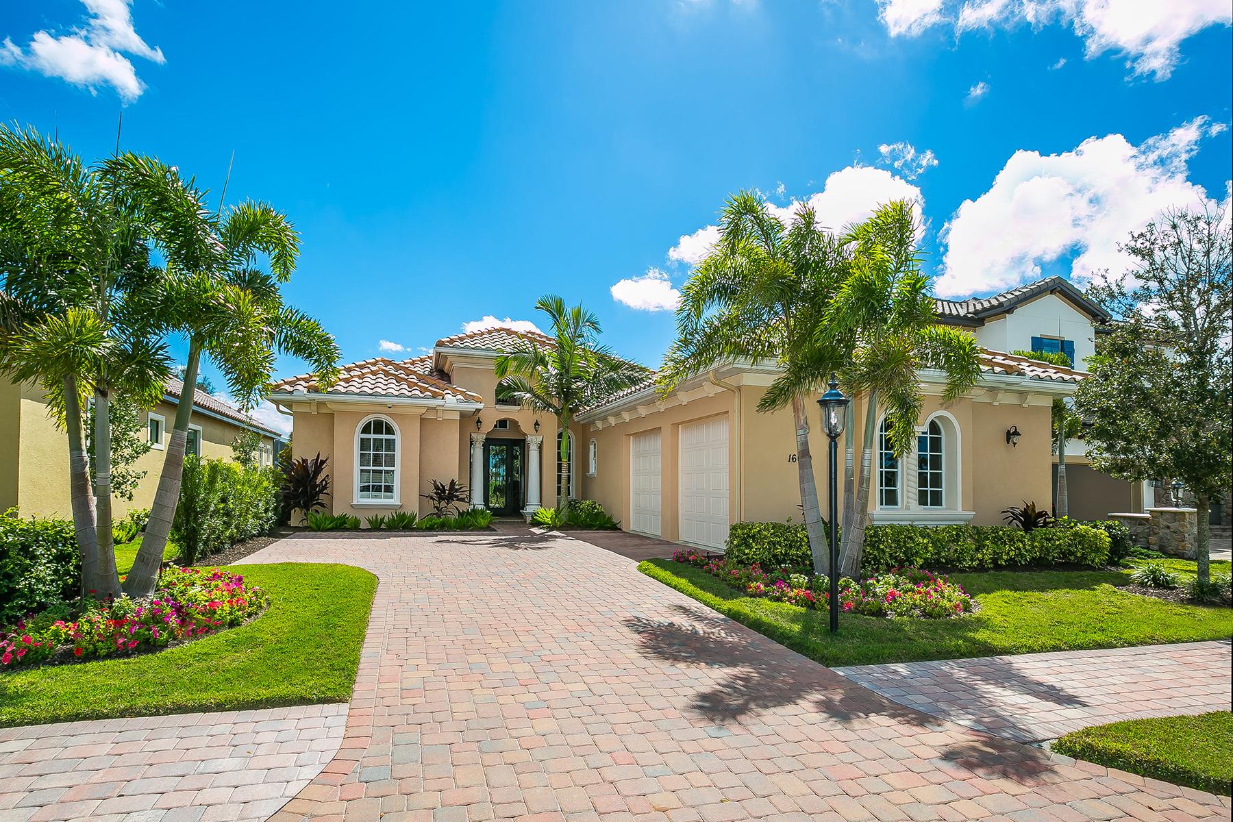 独户住宅 为 销售 在 COUNTRY CLUB EAST 16010 Knightswood Pl 布雷登顿, 佛罗里达州, 34202 美国