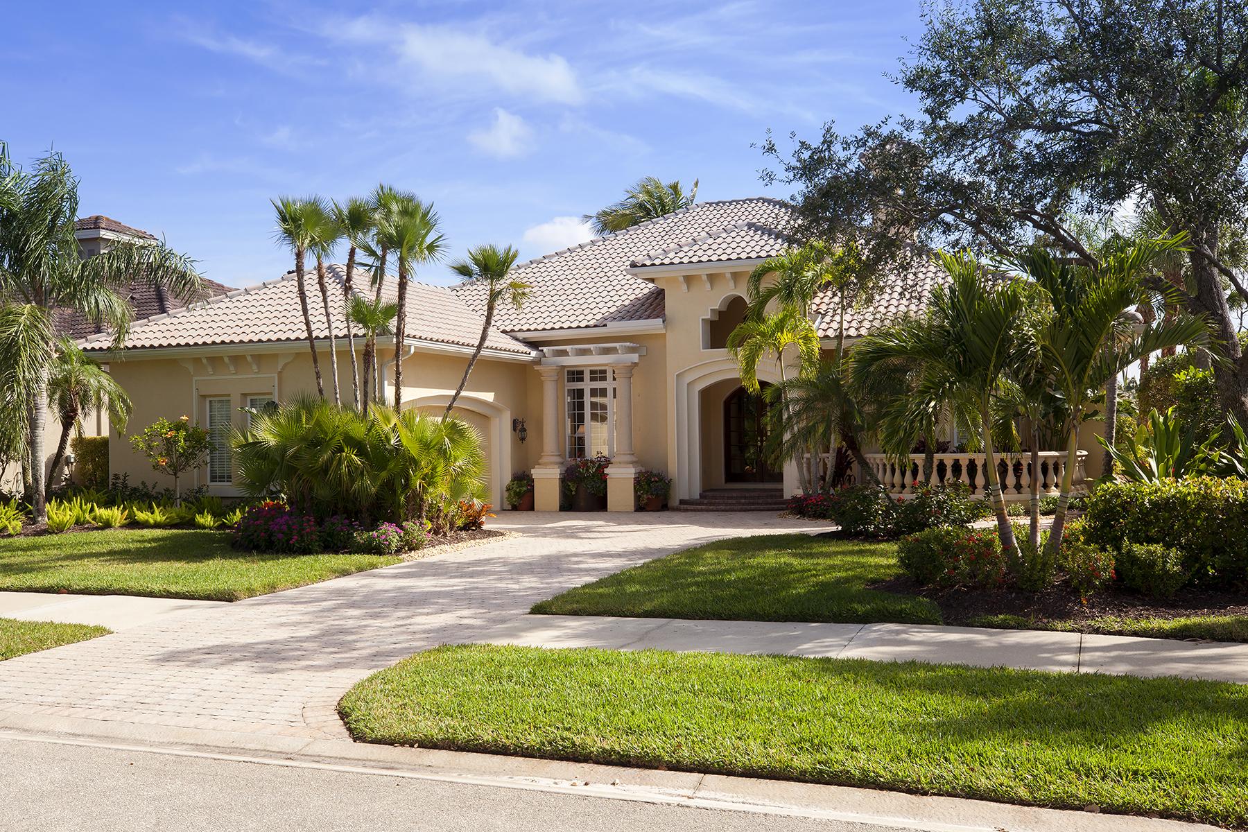 独户住宅 为 销售 在 FIDDLERS CREEK 7786 Mulberry Ln, 那不勒斯, 佛罗里达州, 34114 美国