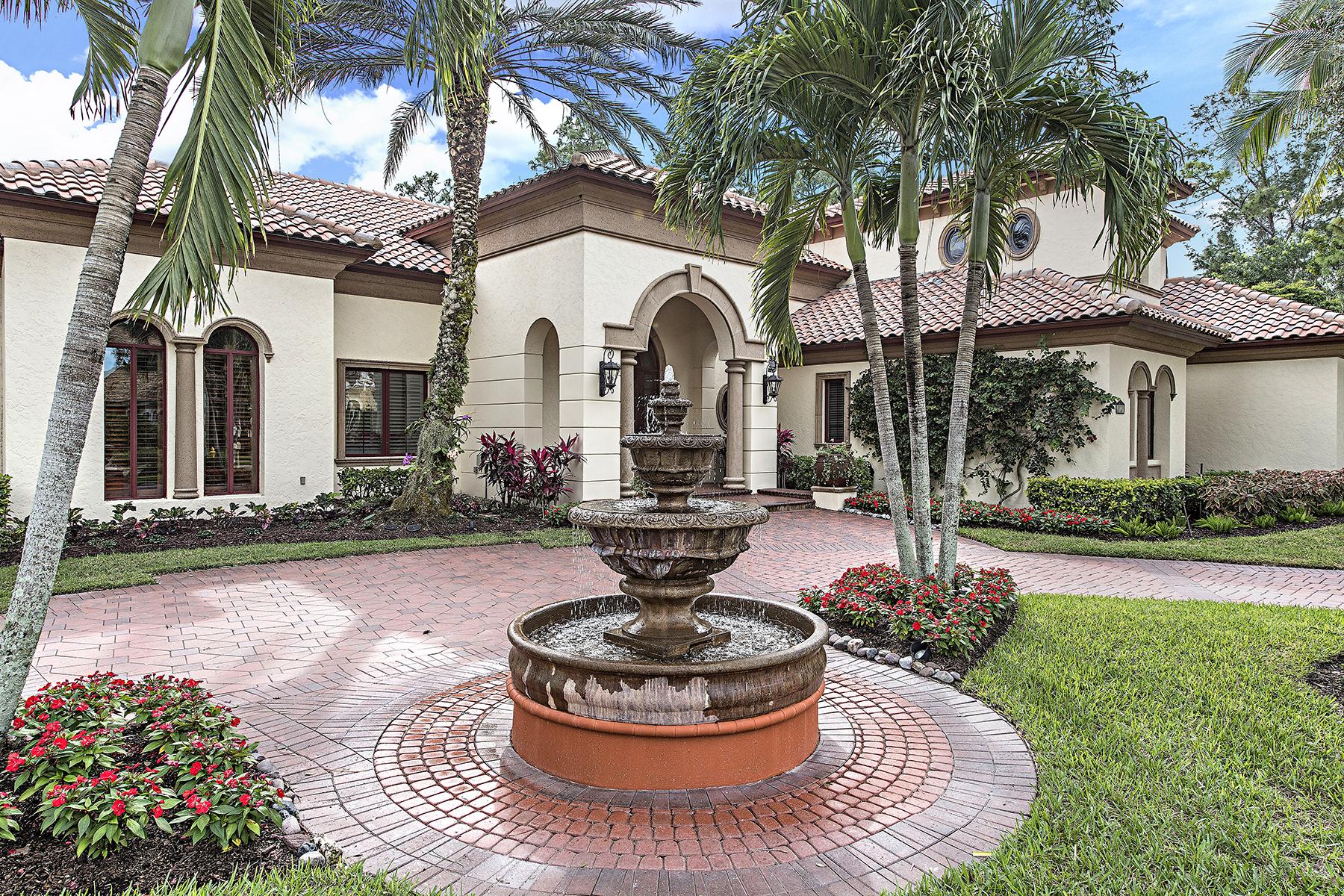 Casa Unifamiliar por un Venta en PELICAN MARSH - BAY LAUREL ESTATES 8727 Purslane Dr Naples, Florida, 34109 Estados Unidos