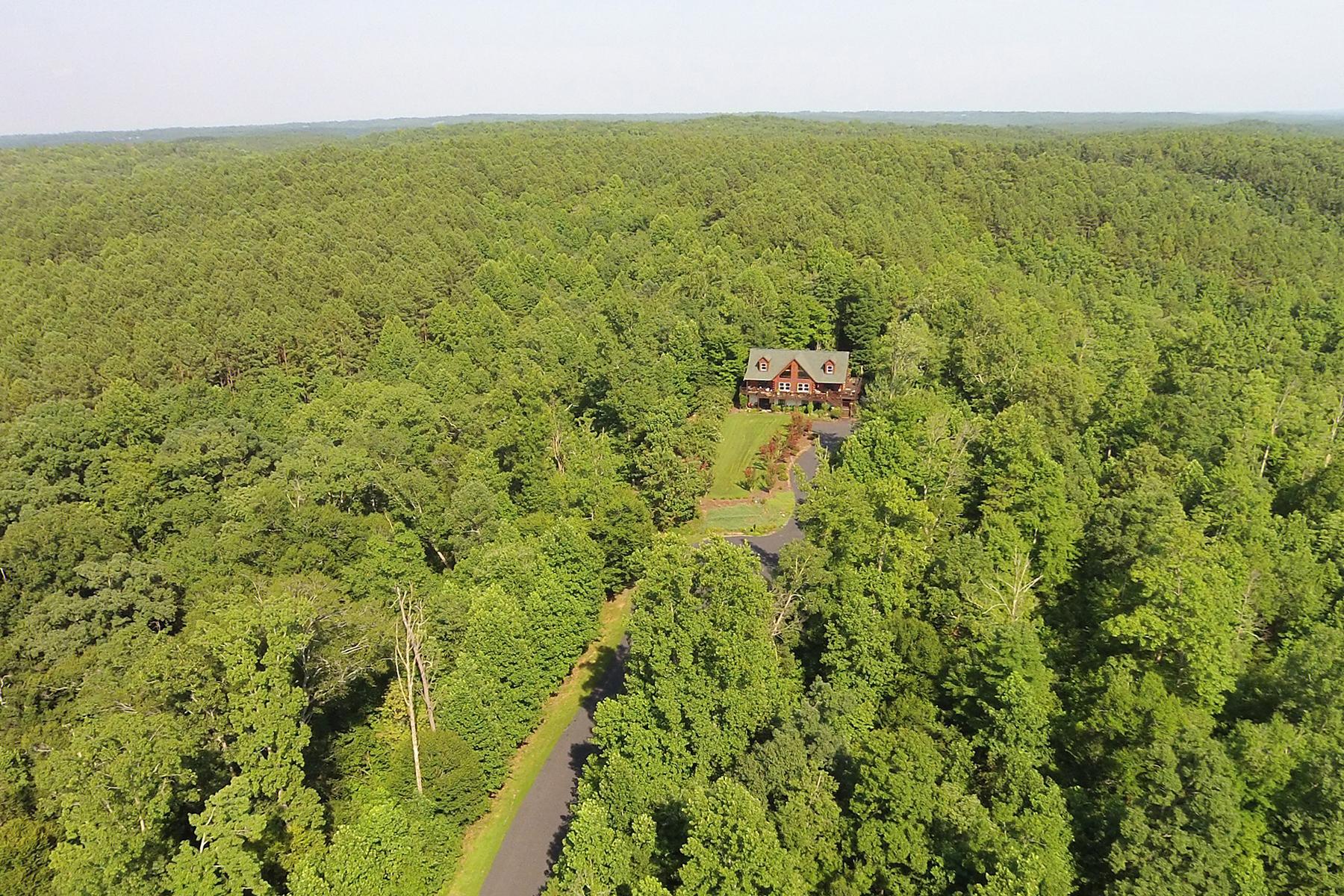 Maison unifamiliale pour l Vente à GREEN RIVER HIGHLANDS 1132 Cross Ridge Dr Rutherfordton, Carolina Du Nord, 28139 États-Unis