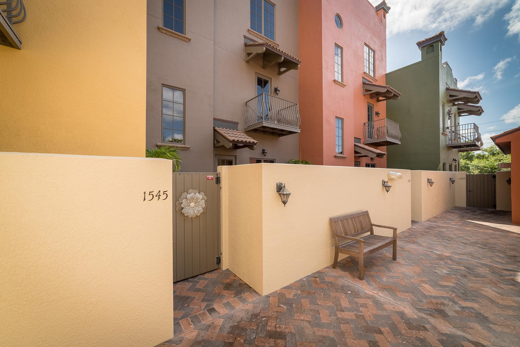 Condominium for Sale at BURNS COURT VILLAS 1545 Oak St 10, Sarasota, Florida 34236 United States