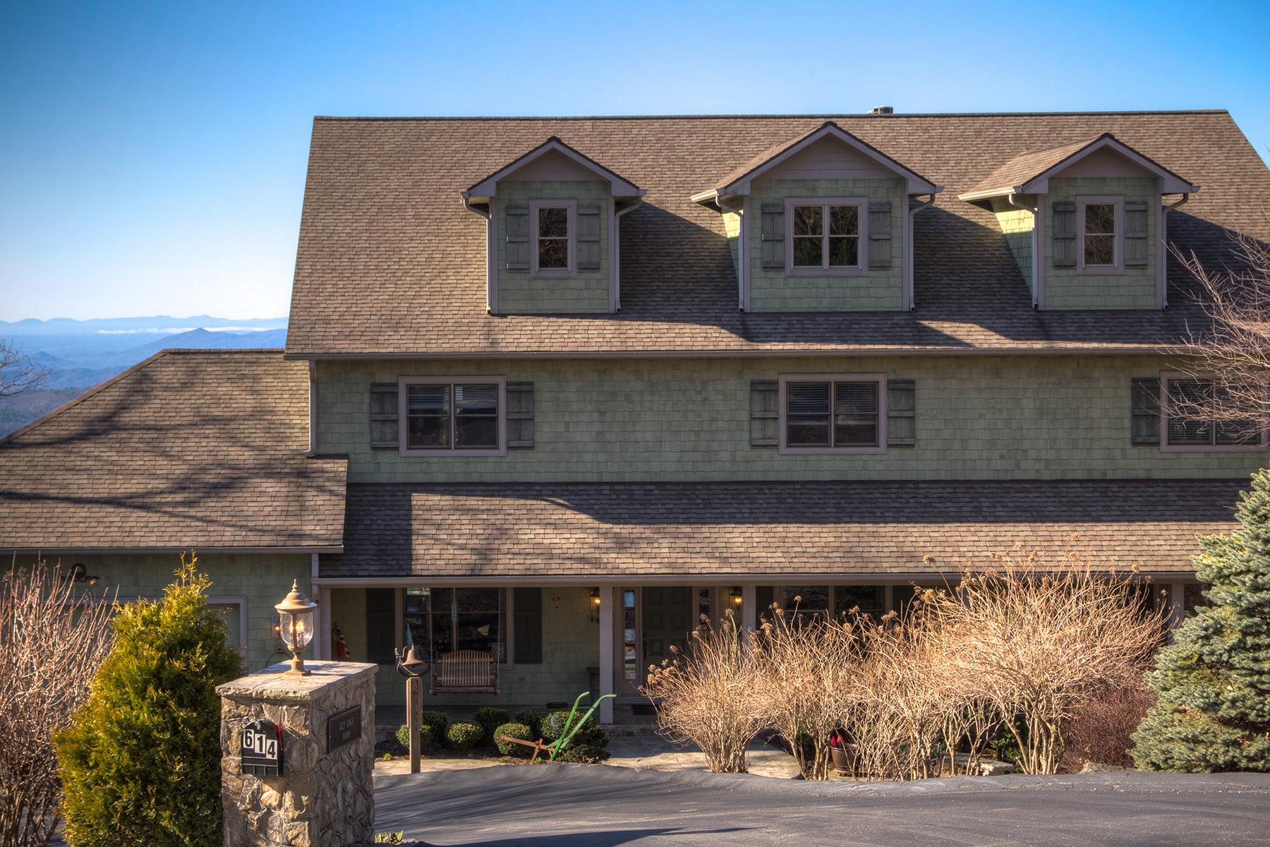 واحد منزل الأسرة للـ Sale في BOONE - GREYSTONE 614 Oak Ridge Dr Boone, North Carolina 28607 United States