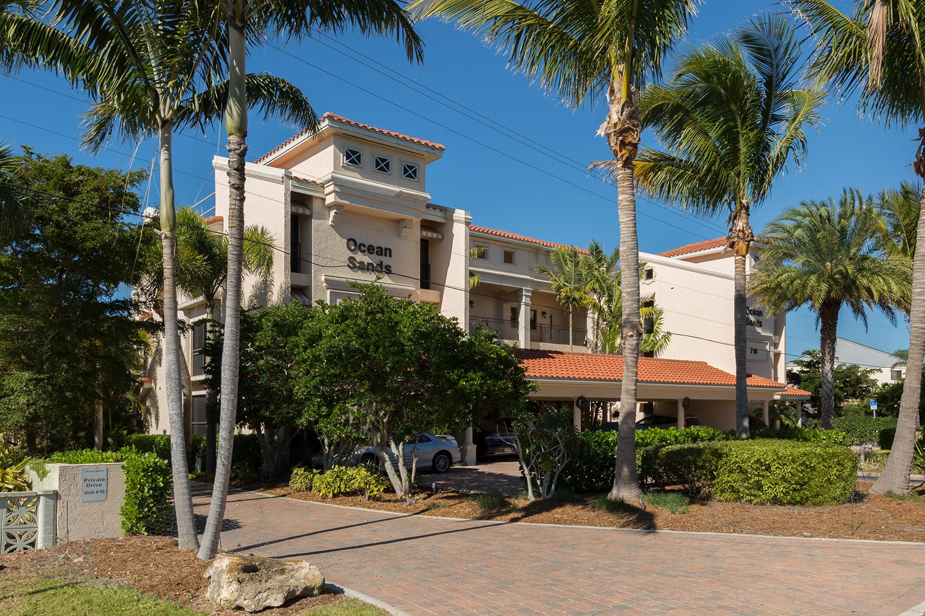 Condominio por un Venta en OCEAN SANDS - VENICE ISLAND 718 Golden Beach Blvd 4, Venice, Florida, 34285 Estados Unidos
