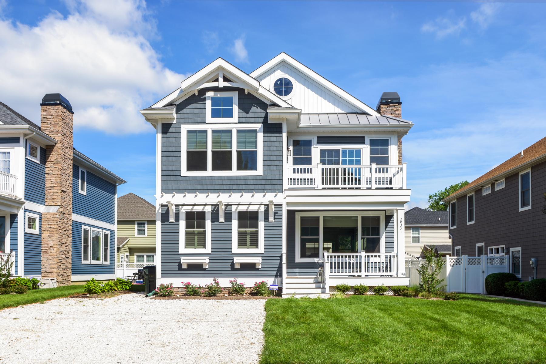 Частный односемейный дом для того Продажа на 207 Munson , Rehoboth Beach, DE 19971 207 Munson Rehoboth Beach, Delaware 19971 United States