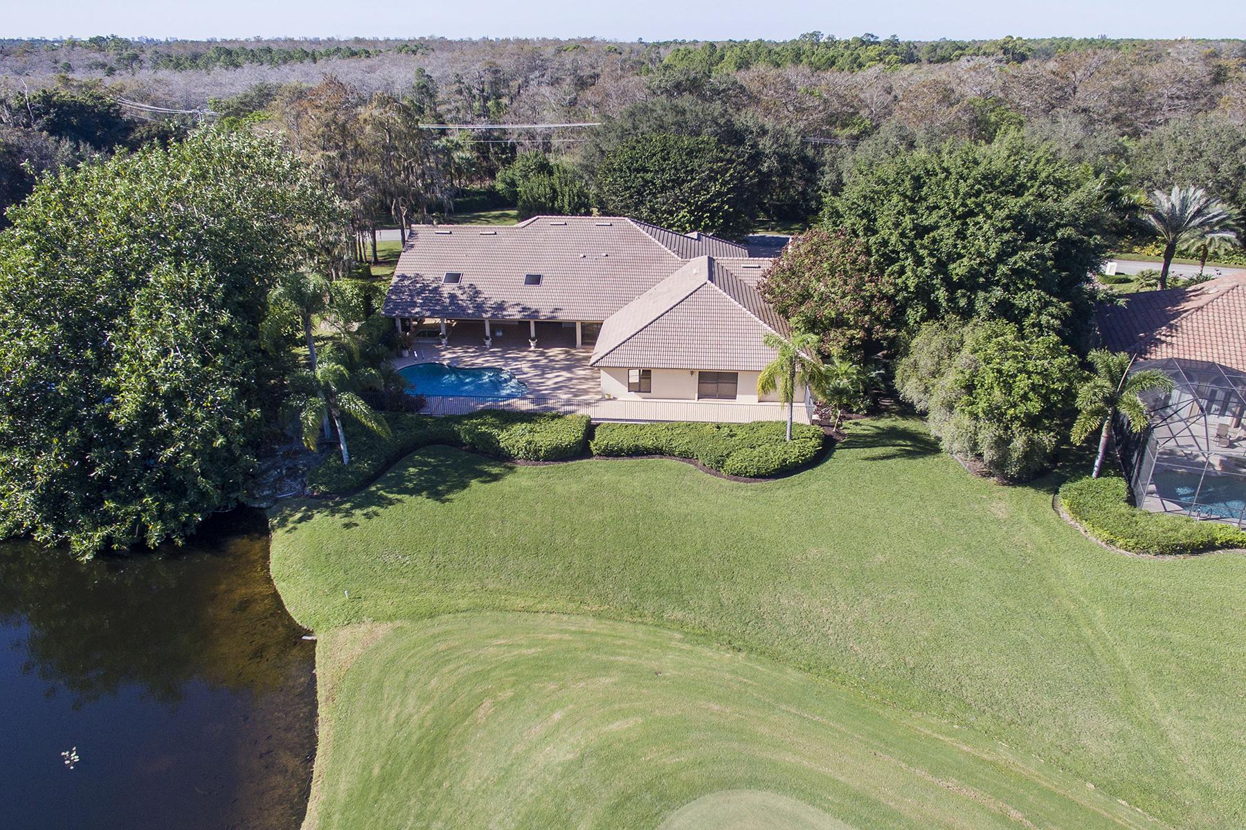 Maison unifamiliale pour l Vente à QUAIL CREEK 12802 Pond Apple Dr W Quail Creek, Naples, Florida, 34119 États-Unis