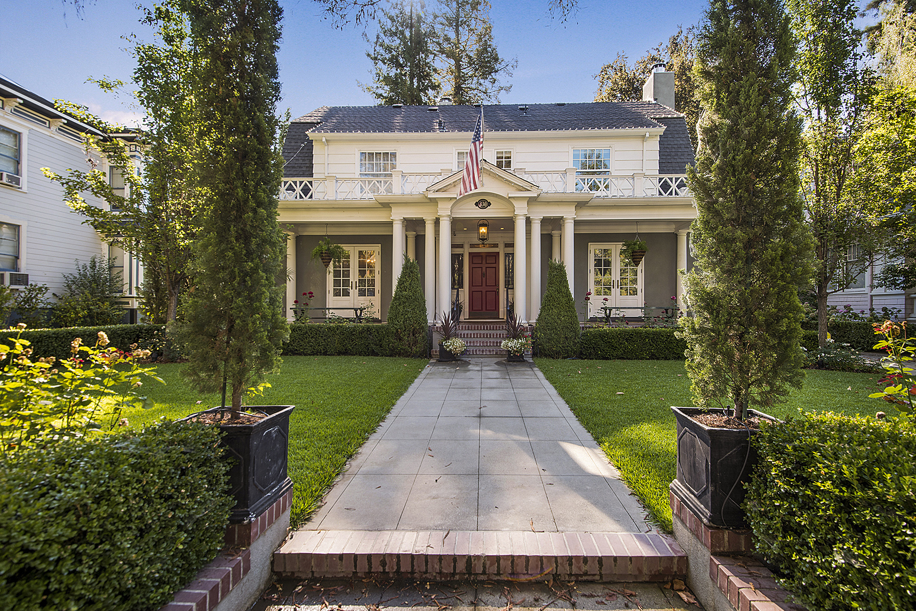 Single Family Home for Sale at An Elegant Masterpiece in The Historic District 330 Franklin St Napa, California 94559 United States