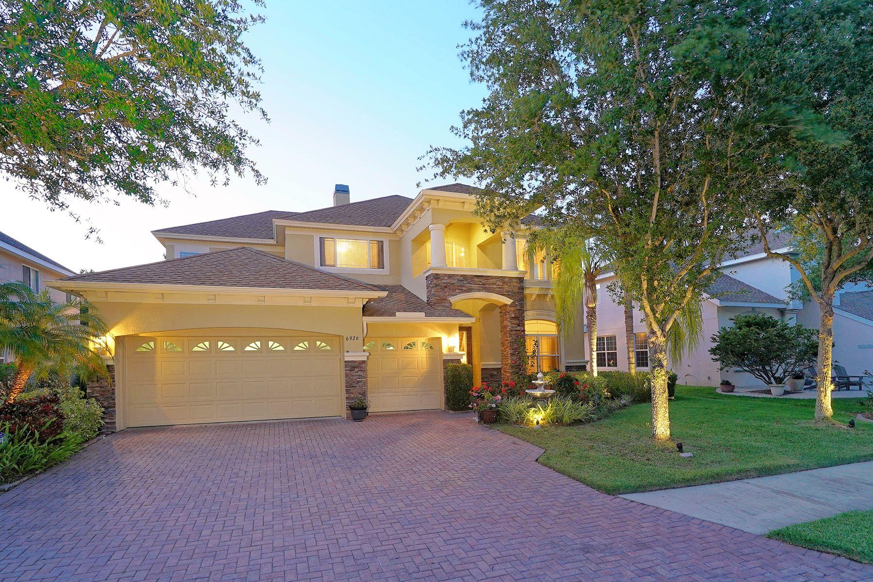 独户住宅 为 销售 在 OAKLEAF HAMMOCK 6926 40th Ct E 埃伦顿, 佛罗里达州 34222 美国