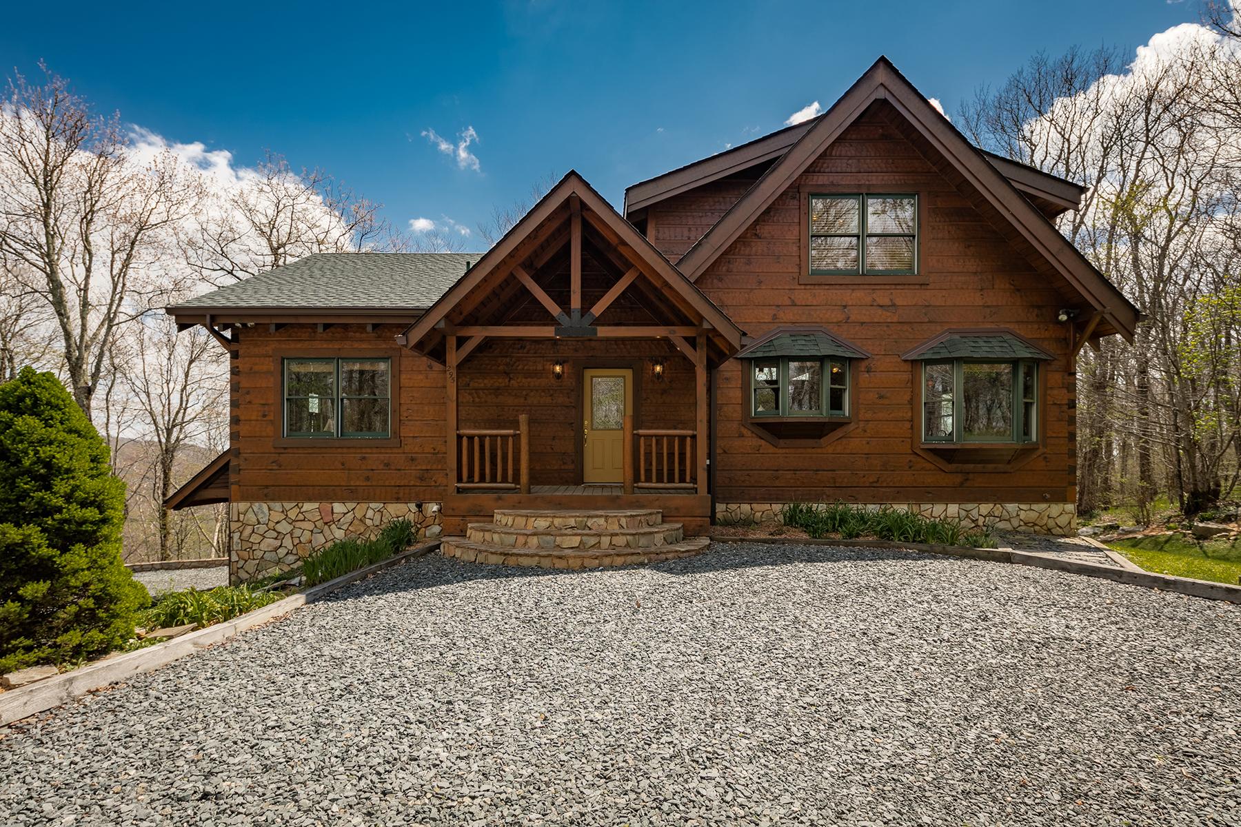 Maison unifamiliale pour l Vente à BANNER ELK - MOUNTAIN MEADOWS 295 Summit Trl Banner Elk, Carolina Du Nord, 28604 États-Unis