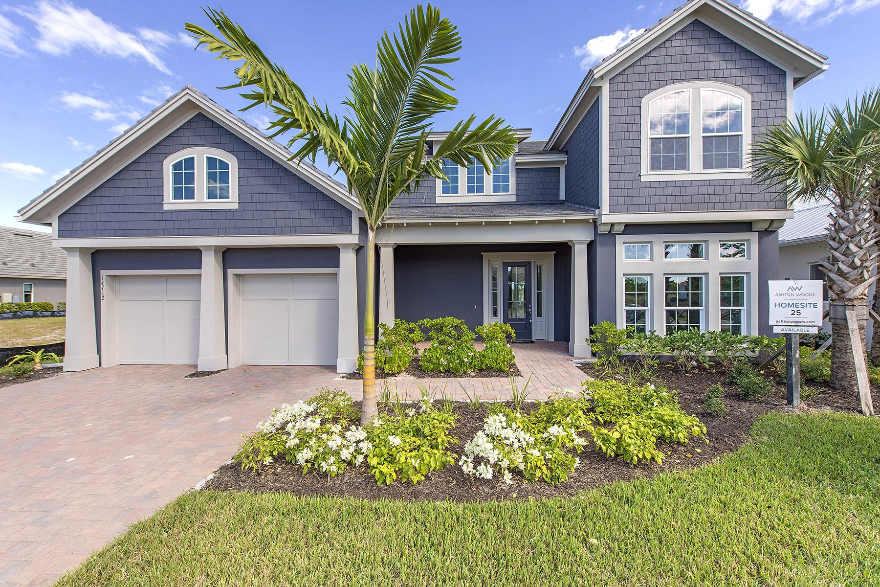 獨棟家庭住宅 為 出售 在 NAPLES RESERVE - SAVANNAH LAKES 14712 Windward Pl Naples, 佛羅里達州, 34114 美國