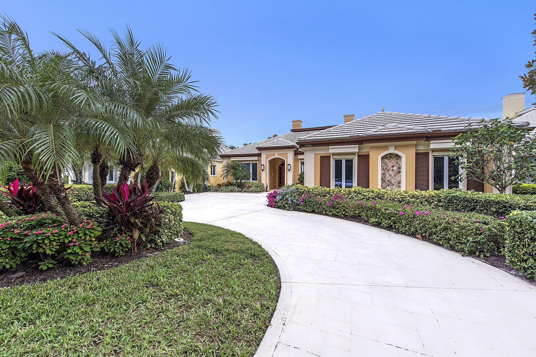 獨棟家庭住宅 為 出售 在 AUDUBON COUNTRY CLUB 15558 Whitney Ln Naples, 佛羅里達州, 34110 美國