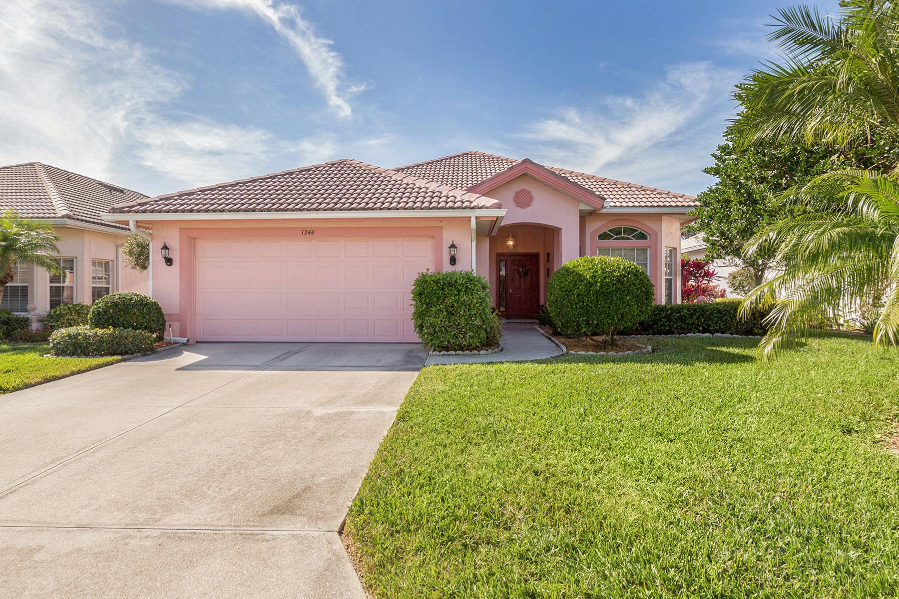 一戸建て のために 売買 アット PELICAN POINTE 1244 Highland Greens Dr Venice, フロリダ, 34285 アメリカ合衆国