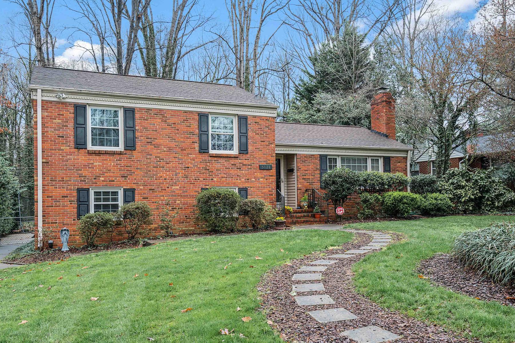 Частный односемейный дом для того Продажа на 5028 Milford Rd , Charlotte, NC 28210 5028 Milford Rd, Charlotte, Северная Каролина, 28210 Соединенные Штаты