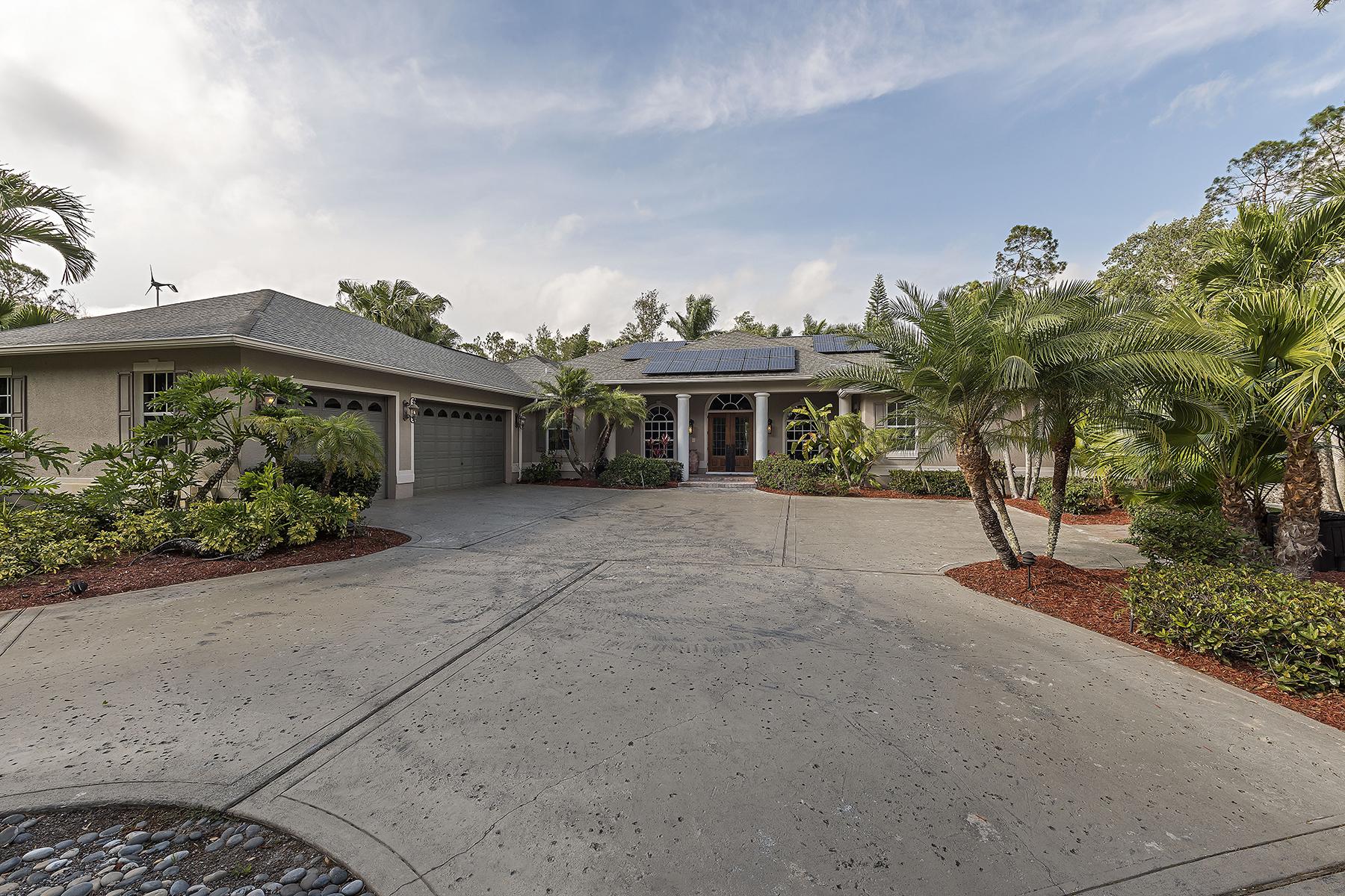 단독 가정 주택 용 매매 에 LOGAN WOODS 5385 Palmetto Woods Dr, Naples, 플로리다, 34119 미국