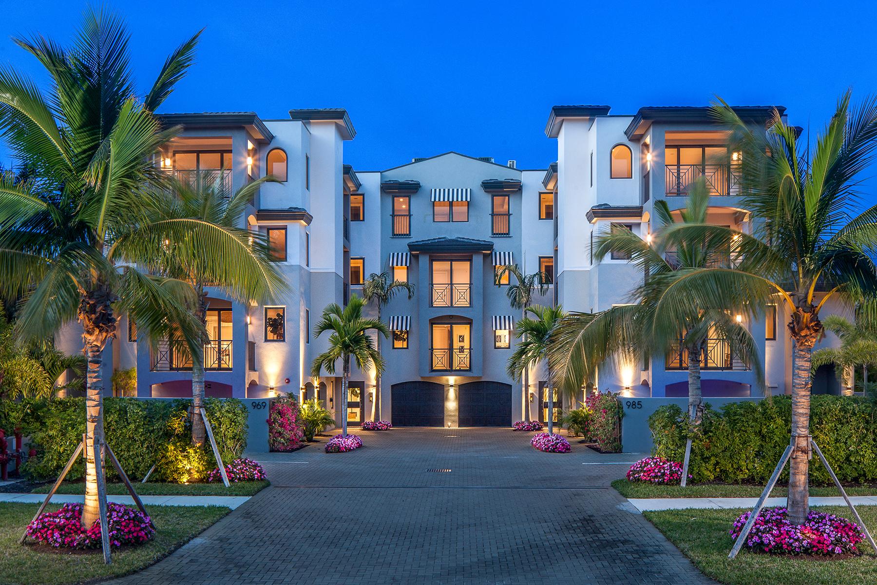 Condominium for Sale at ESMERALDA ON EIGHTH 985 8th Ave S 102, Naples, Florida 34102 United States