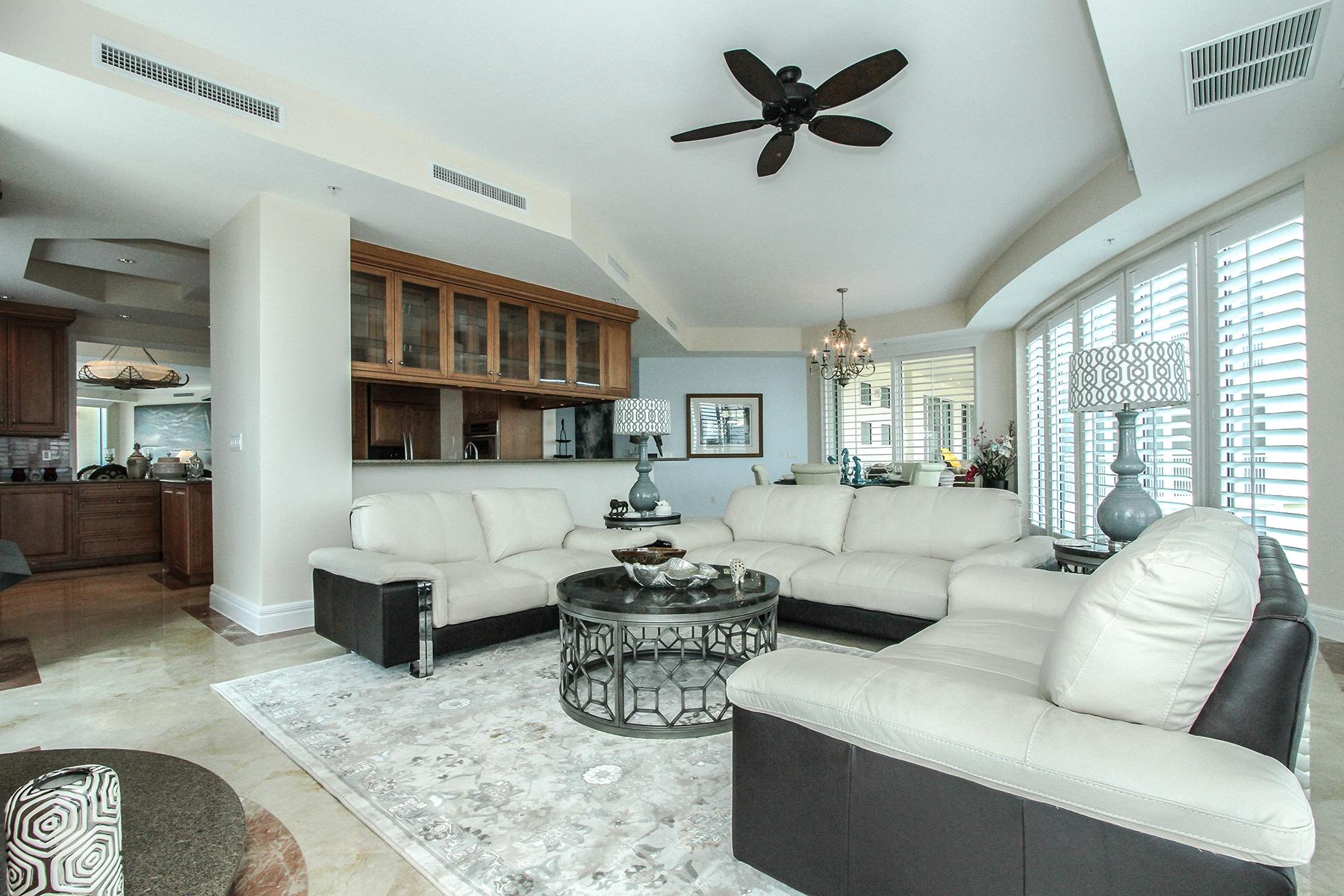 共管式独立产权公寓 为 出租 在 PARK SHORE - ARIA 4501 Gulf Shore Blvd N 1601 那不勒斯, 佛罗里达州 34103 美国