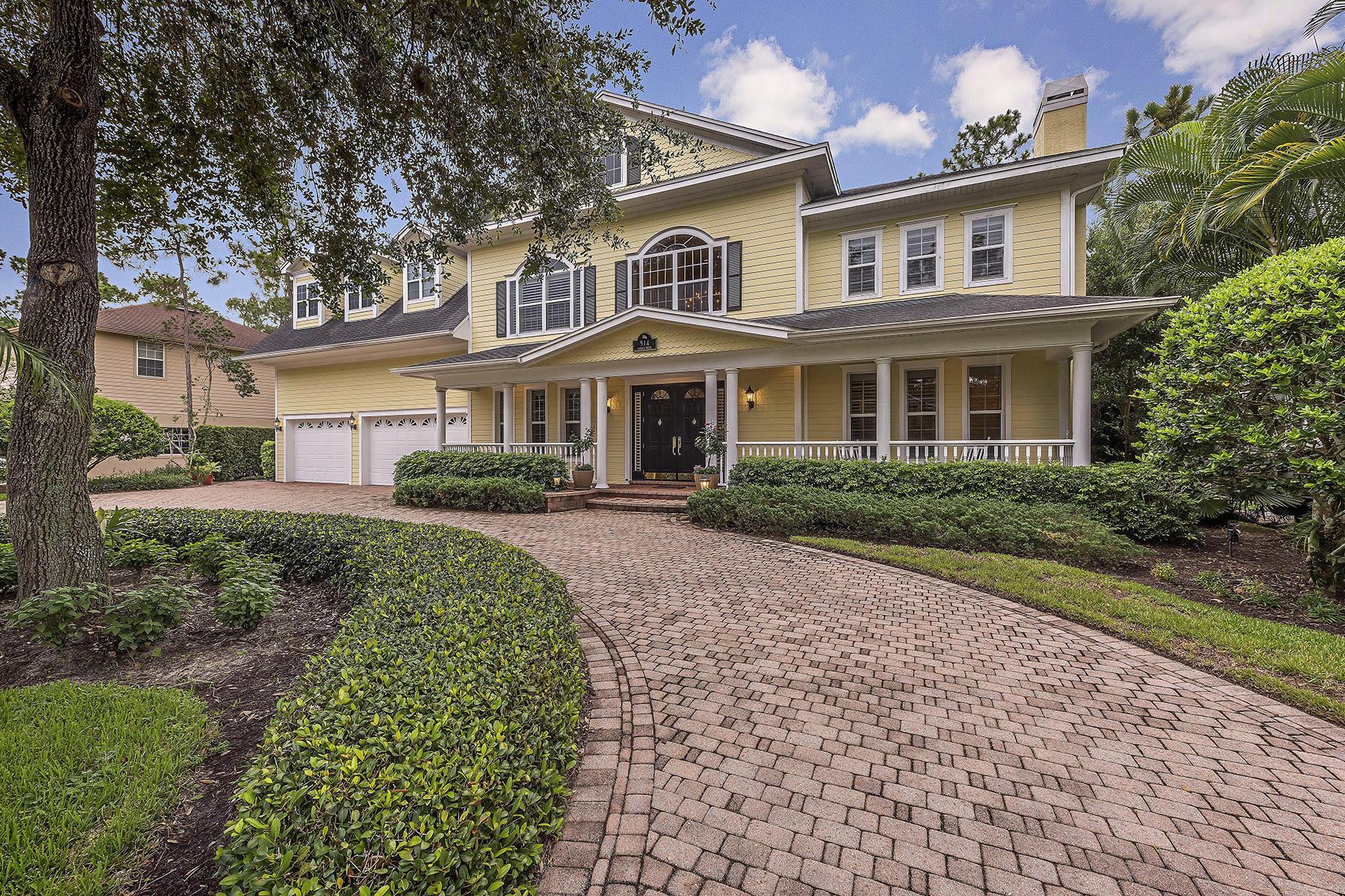獨棟家庭住宅 為 出售 在 PALM RIVER - CANDLEWOOD 514 Corbel Dr, Naples, 佛羅里達州, 34110 美國