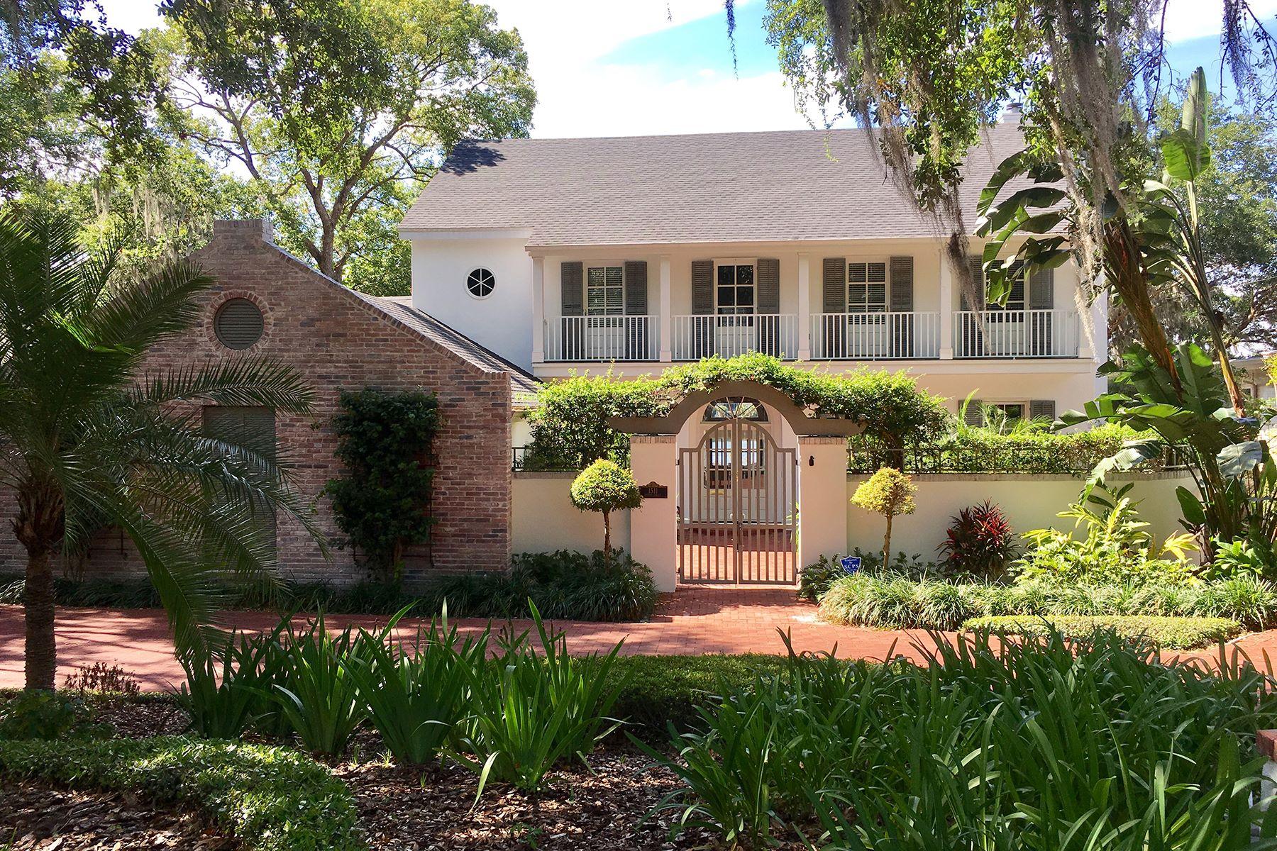 Tek Ailelik Ev için Satış at WINTER PARK FLORIDA 1511 Harris Cir Winter Park, Florida, 32789 Amerika Birleşik Devletleri