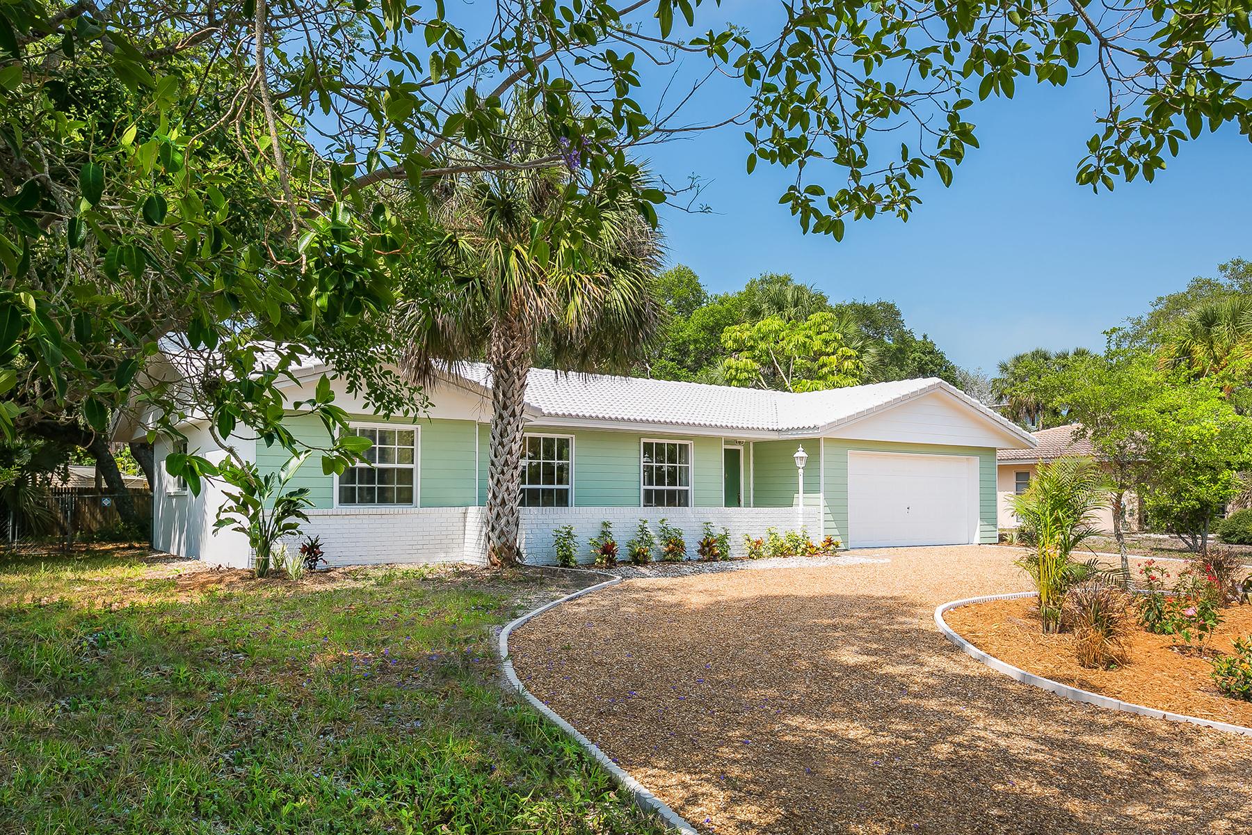 Casa para uma família para Venda às SIESTA KEY WATERSIDE EAST 630 Venice Ln Sarasota, Florida, 34242 Estados Unidos